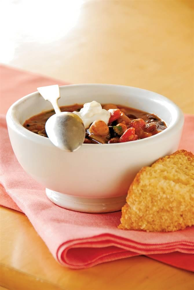 This quick and easy three bean chili recipe is a great choice for this quick and easy three bean chili recipe is a great choice for meatless monday today forumfinder Gallery