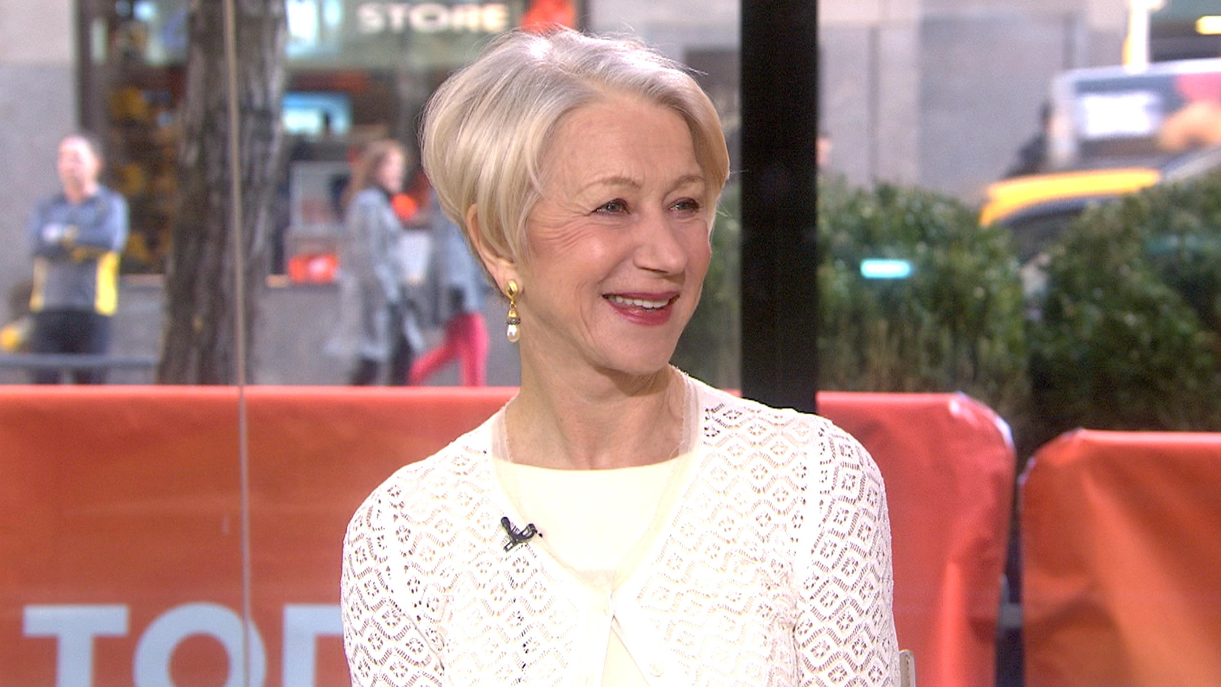 Helen Mirren Fakes in woman in gold' star helen mirren prefers it if you don't call her