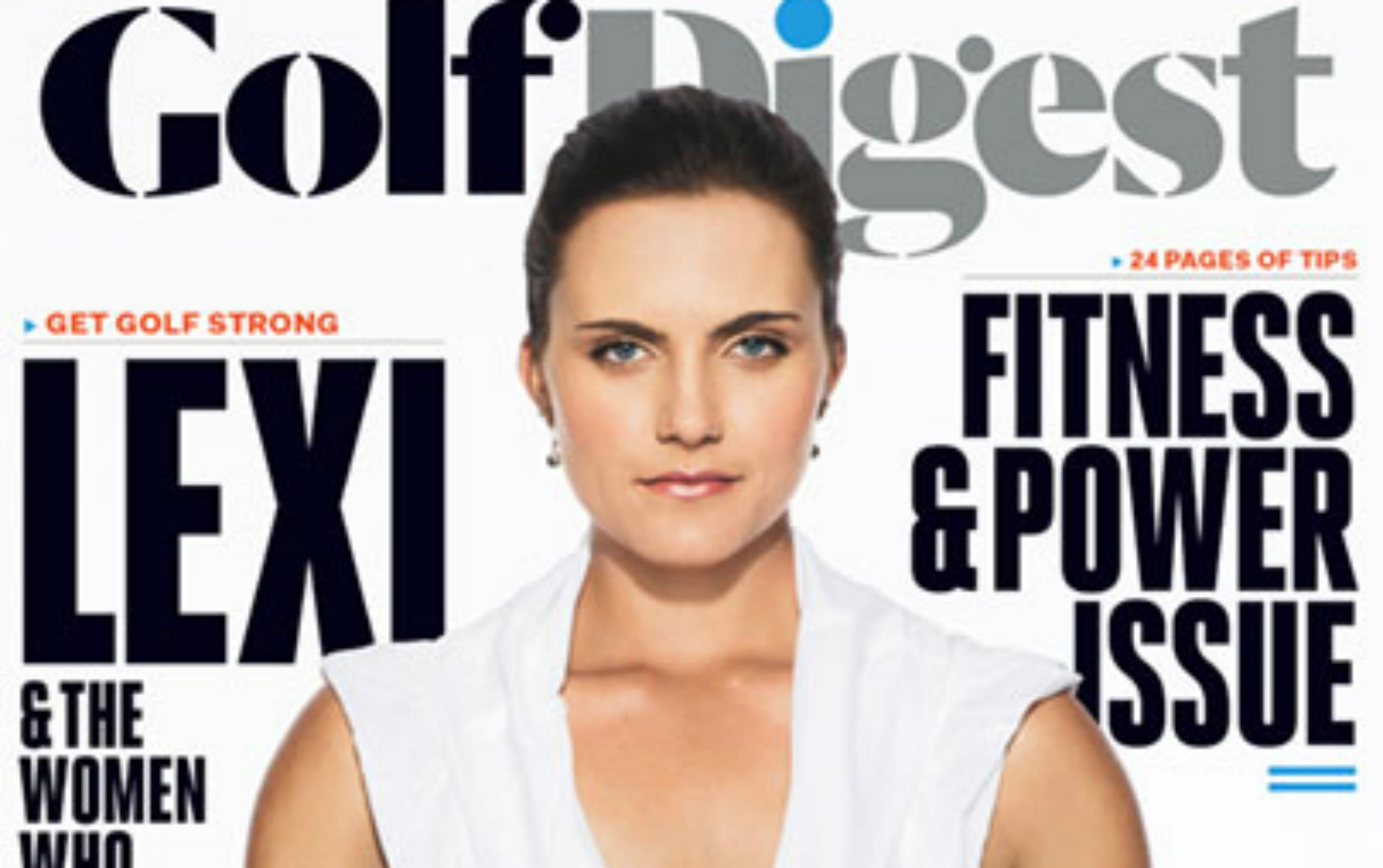 Golf Digest Cover With Topless Lexi Thomspon Controversy
