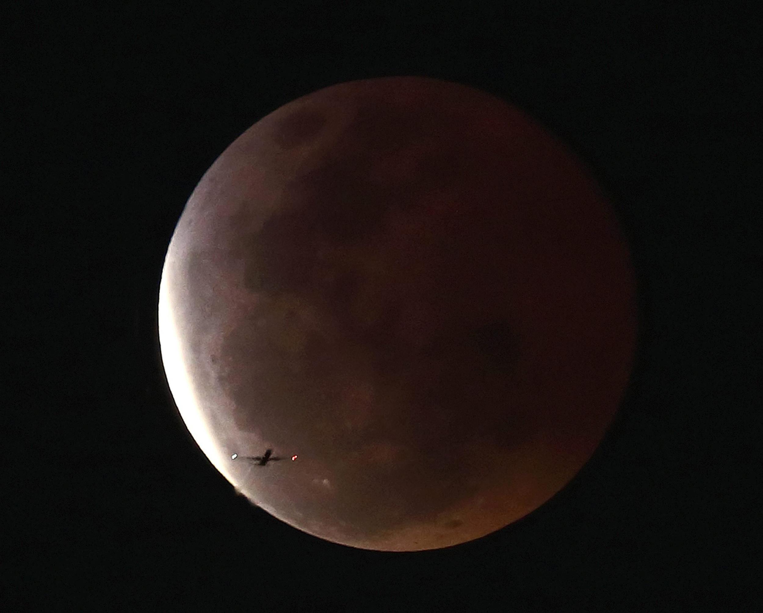 Image: Lunar eclipse in Thailand