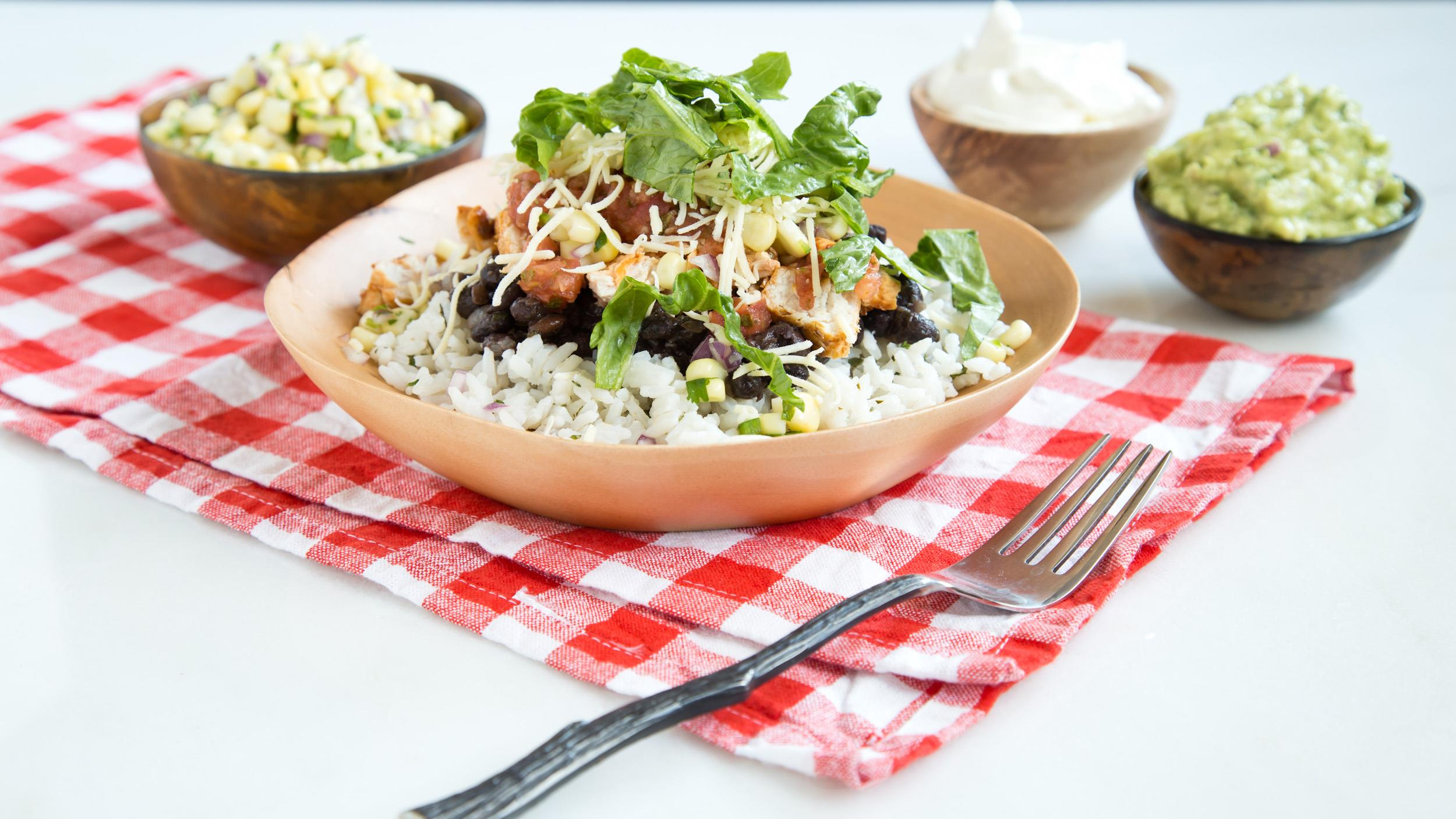 Make this burrito bowl recipe for Chipotle-style takeout from your own ...