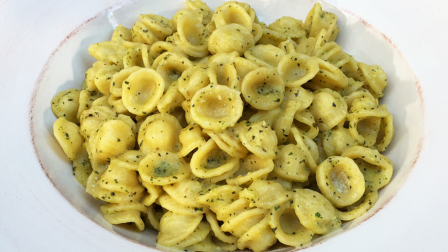 Fava Bean Pesto Orecchiette - TODAY.com