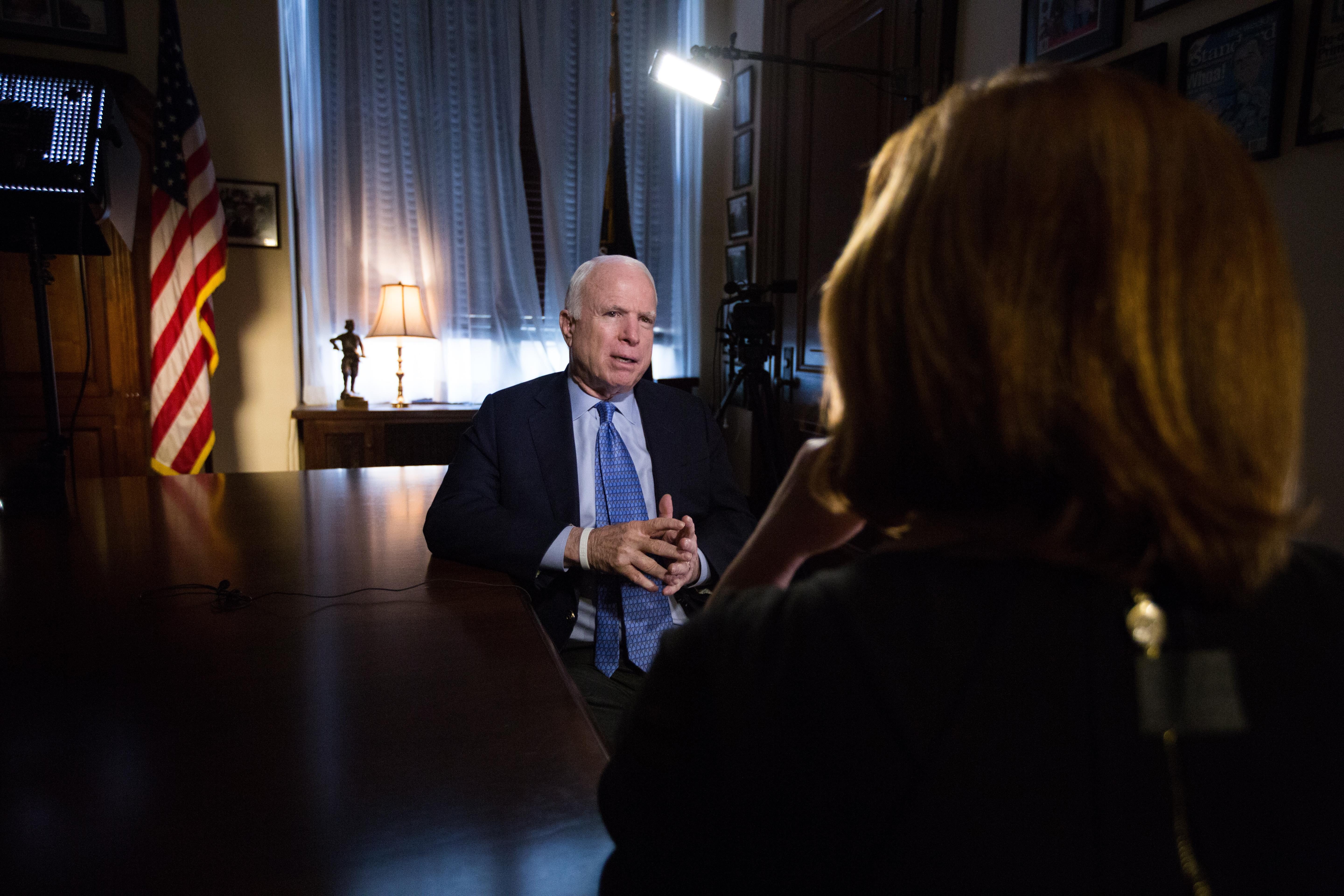John McCain Will Run for Re-Election to the Senate in 2016
