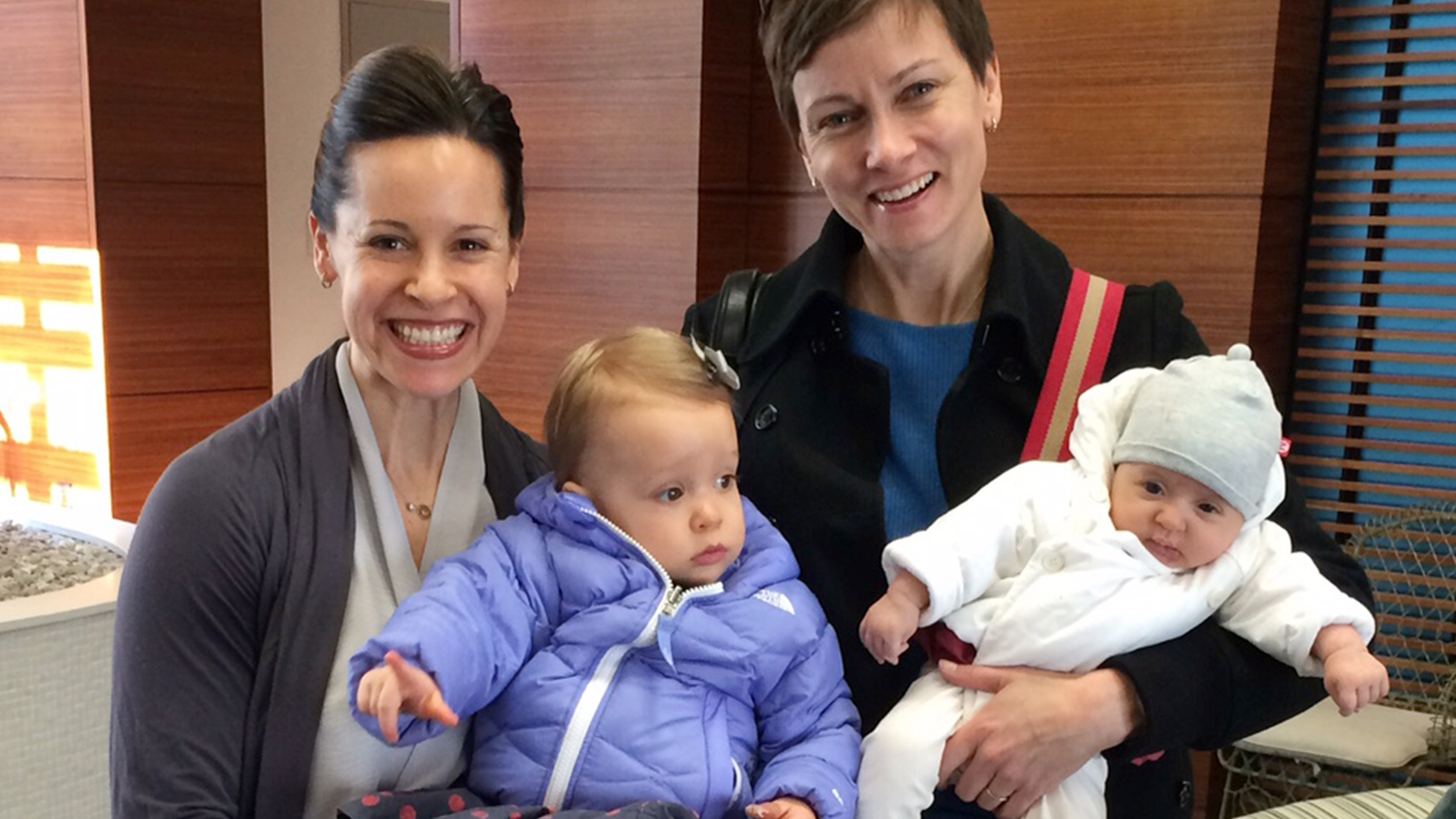 Jenna Wolfe On Second Child Would She Fit In Our Hearts