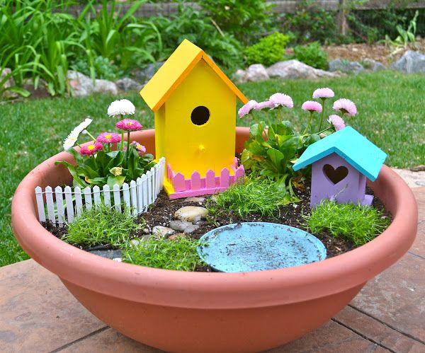 9 enchanting fairy gardens to build with your kids TODAYcom