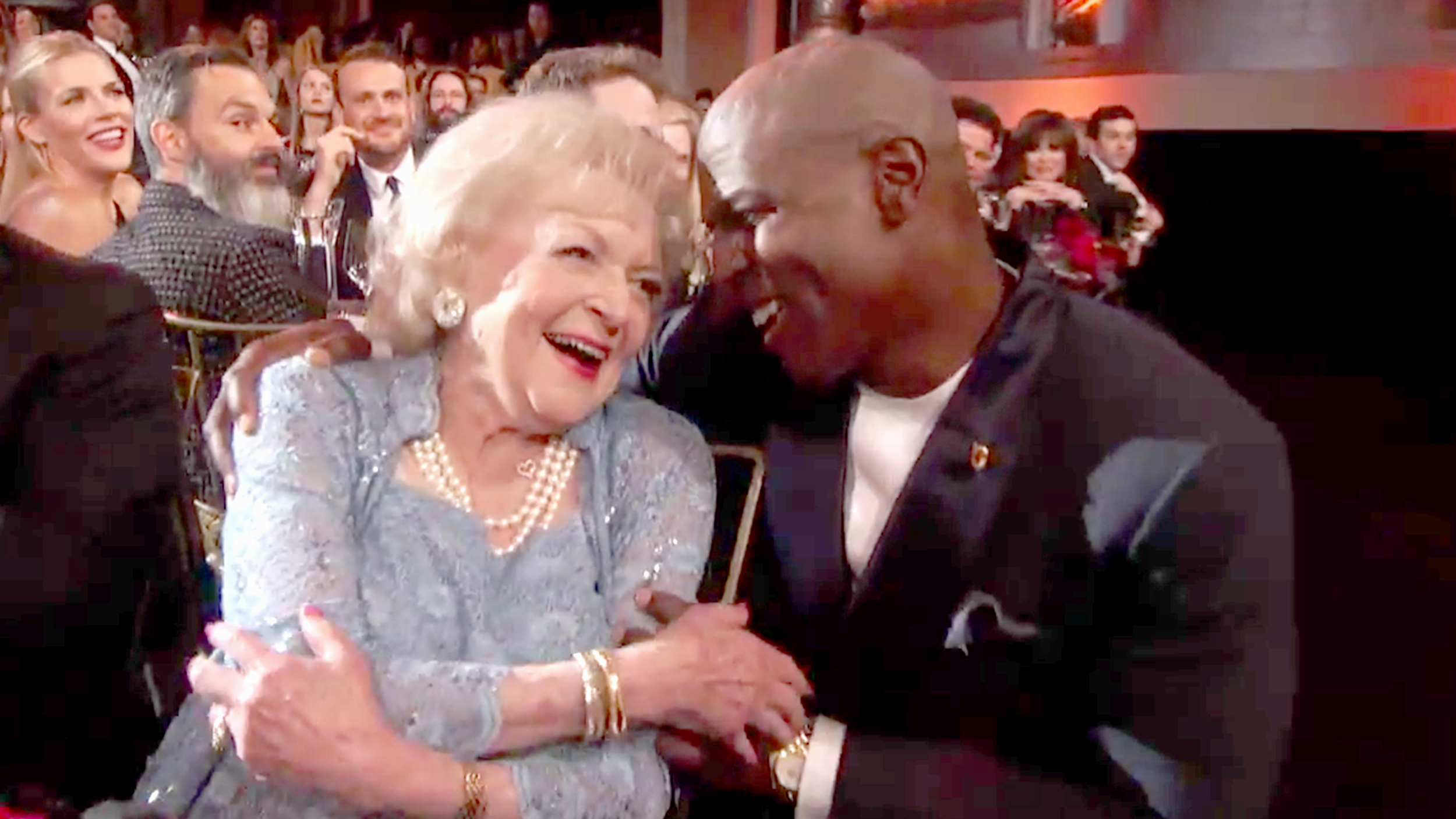 Terry Crews Serenades Betty White With Golden Girls Lip Sync