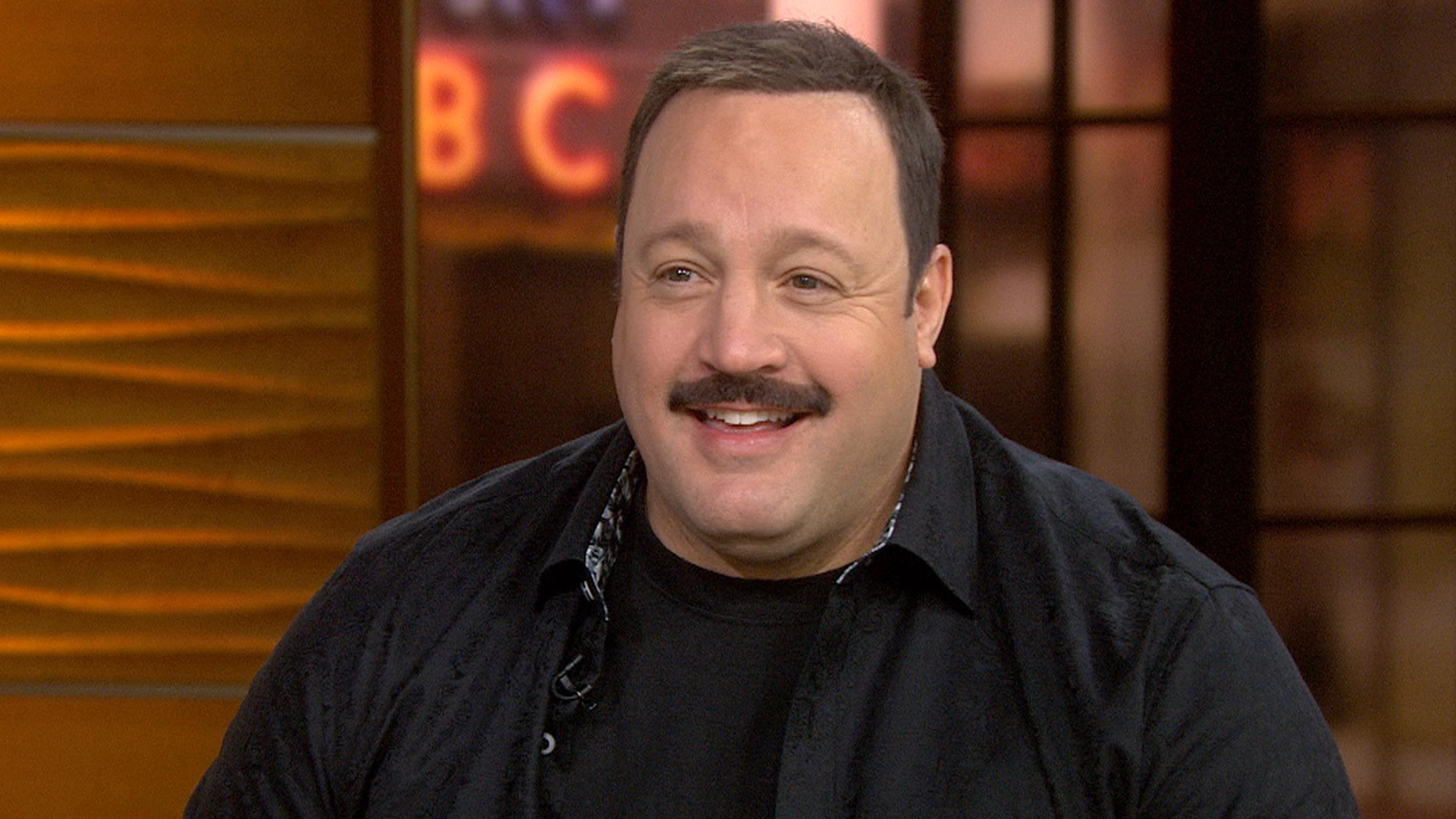Kevin James and 'organic' mustache return in 'Paul Blart ...  Kevin James and...