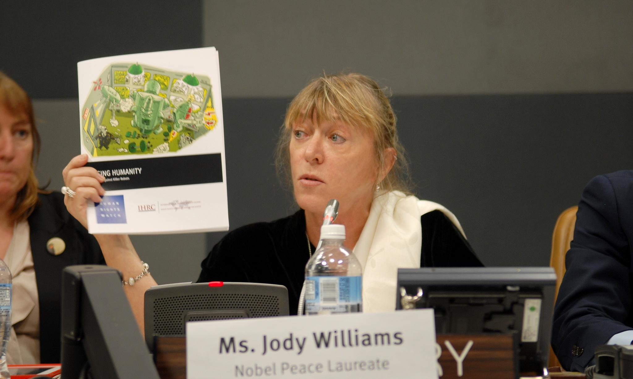 Jody Williams Helped Ban Landmines. Can She Stop Killer Robots?