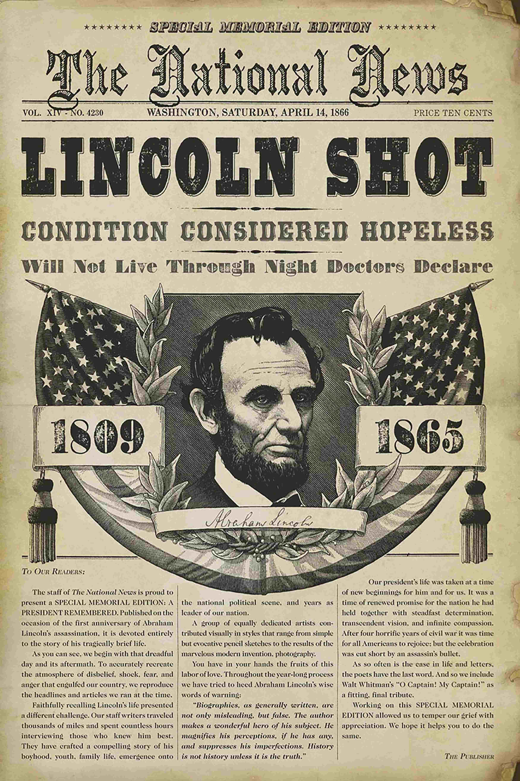 Abraham Lincoln Assassination Anniversary: How the Day Was ...