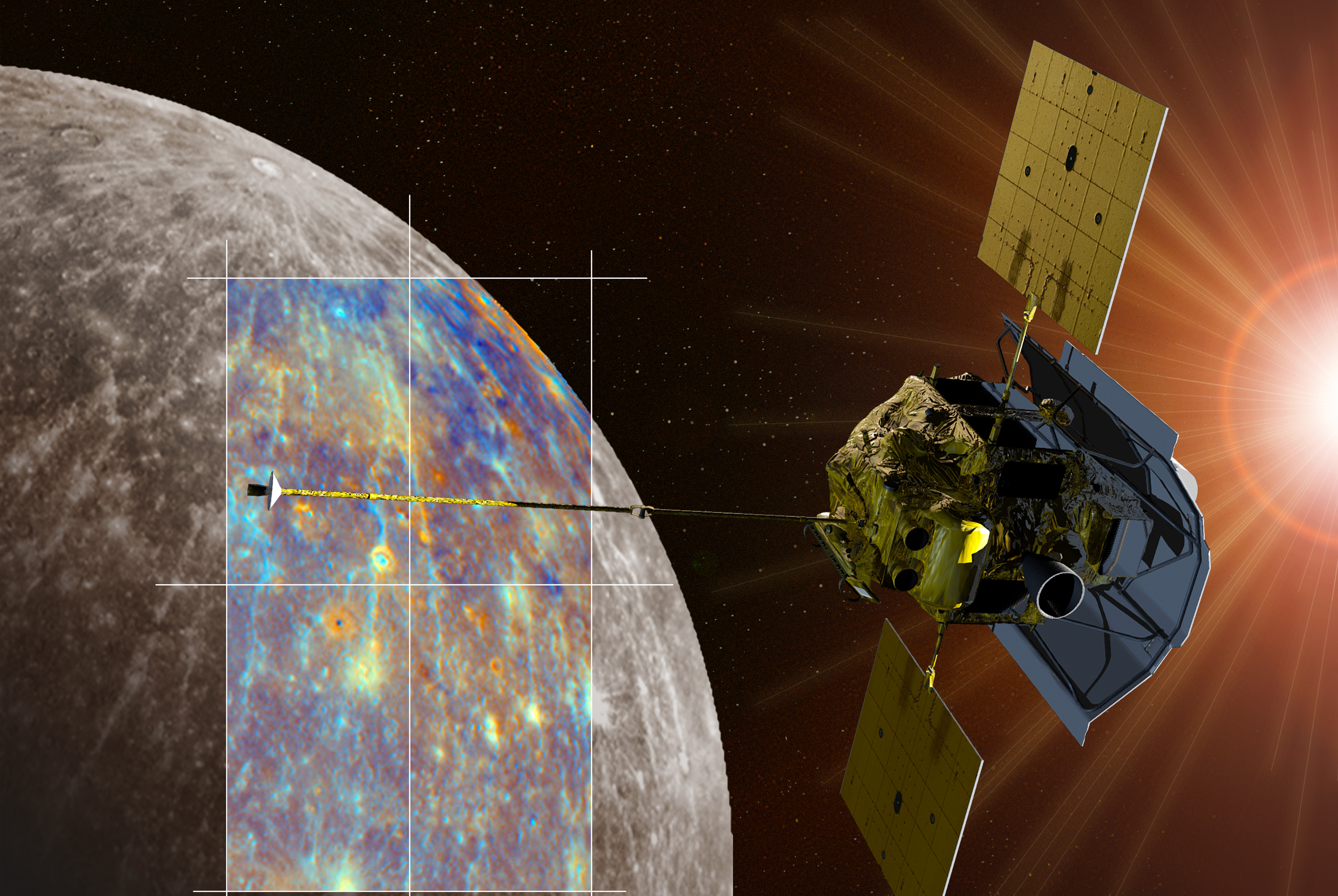 messenger spacecraft to mercury 2009 picture - HD 3000×2009