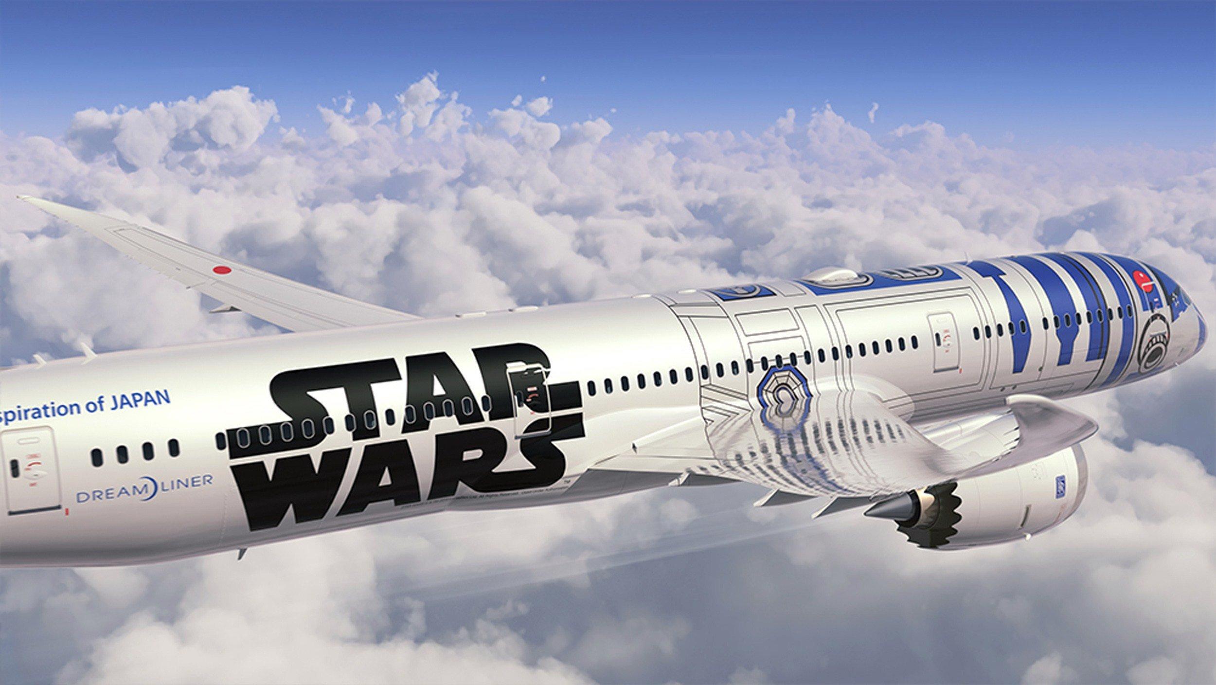 Millennium Falcon It Ain't: ANA Goes 'Star Wars'