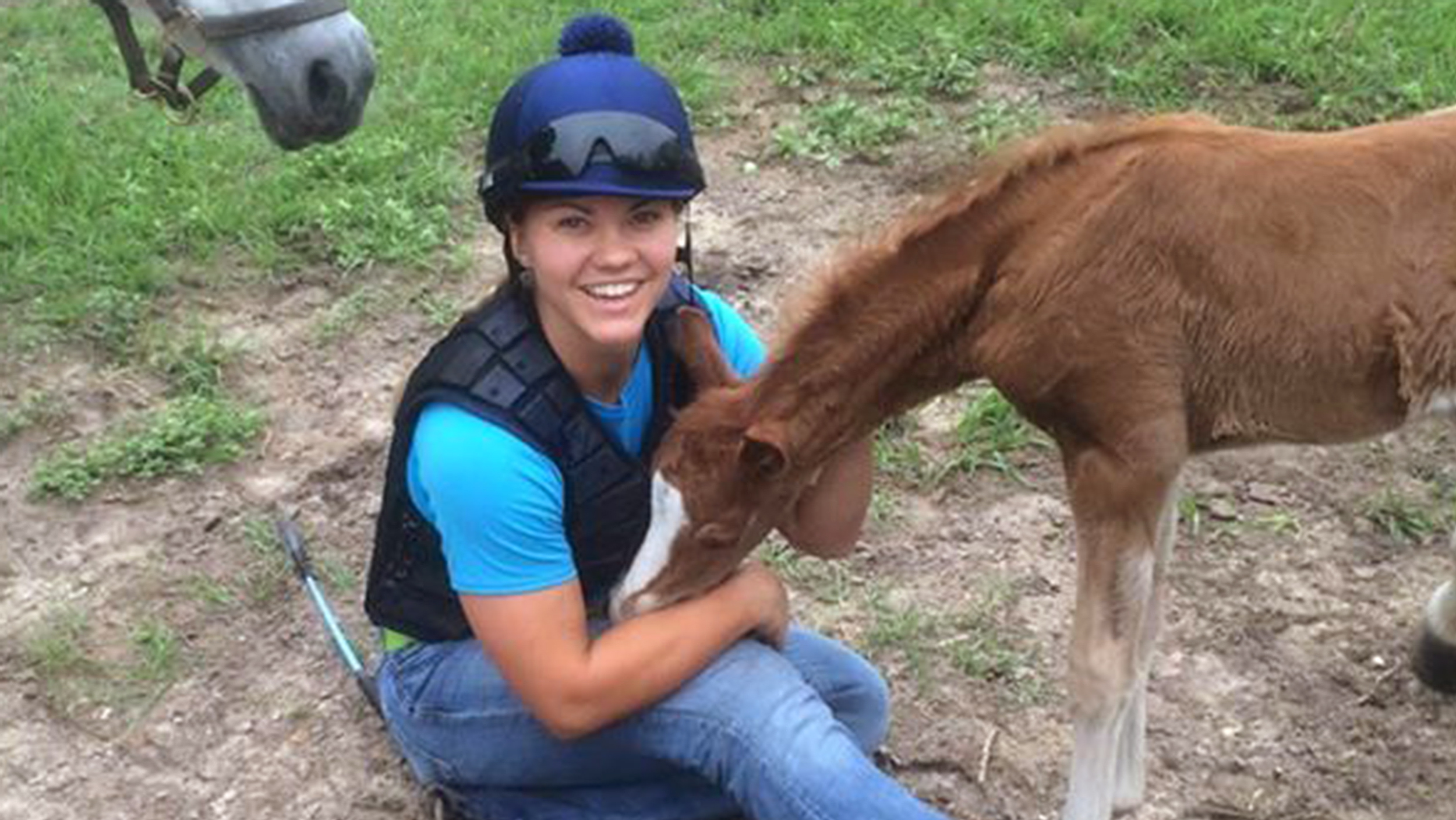 Baby Horse Hugs Woman Who Declares It Best Day Of My Life