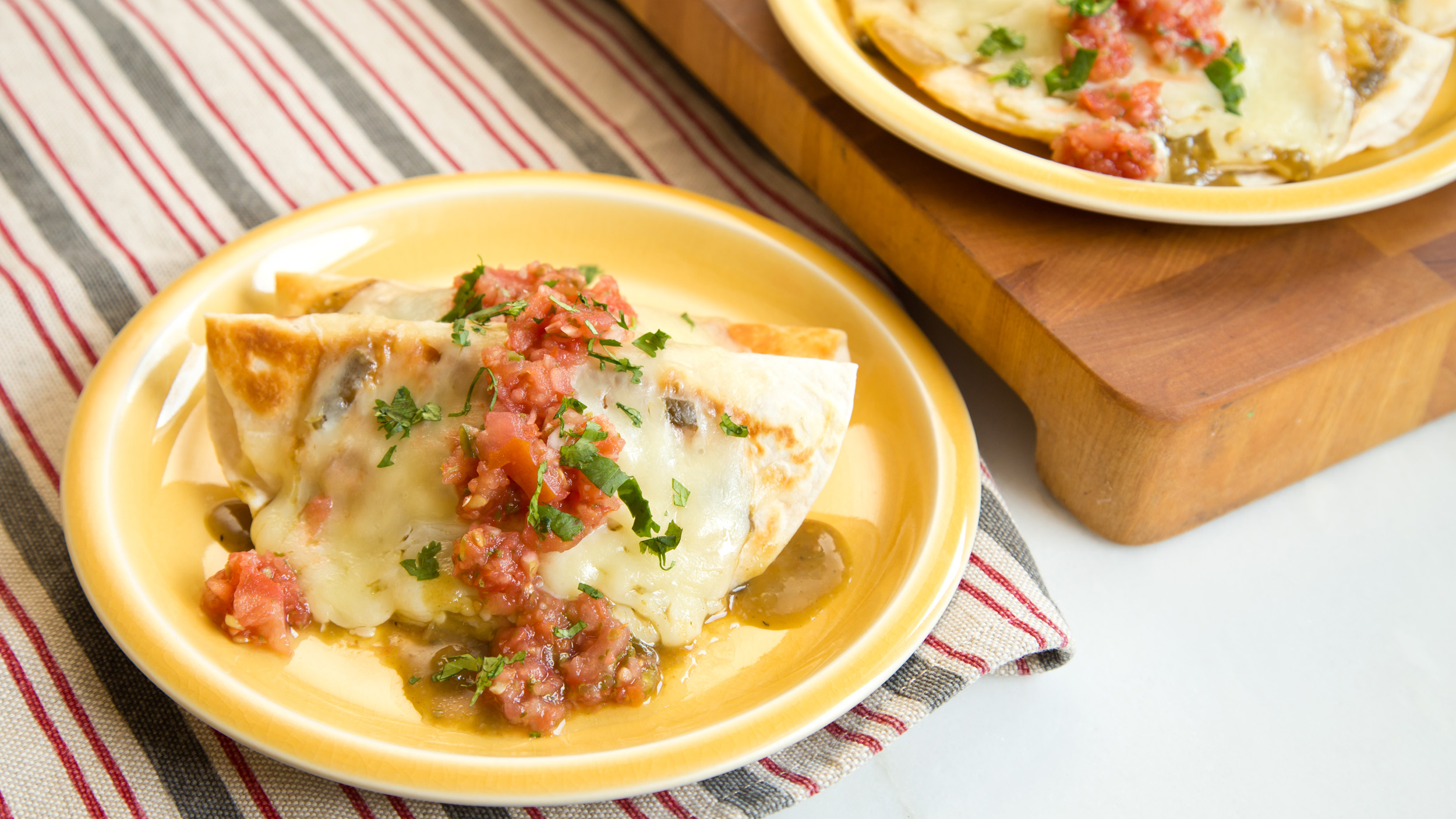 This Make Ahead Stuffed Chicken Tortillas Recipe Is So