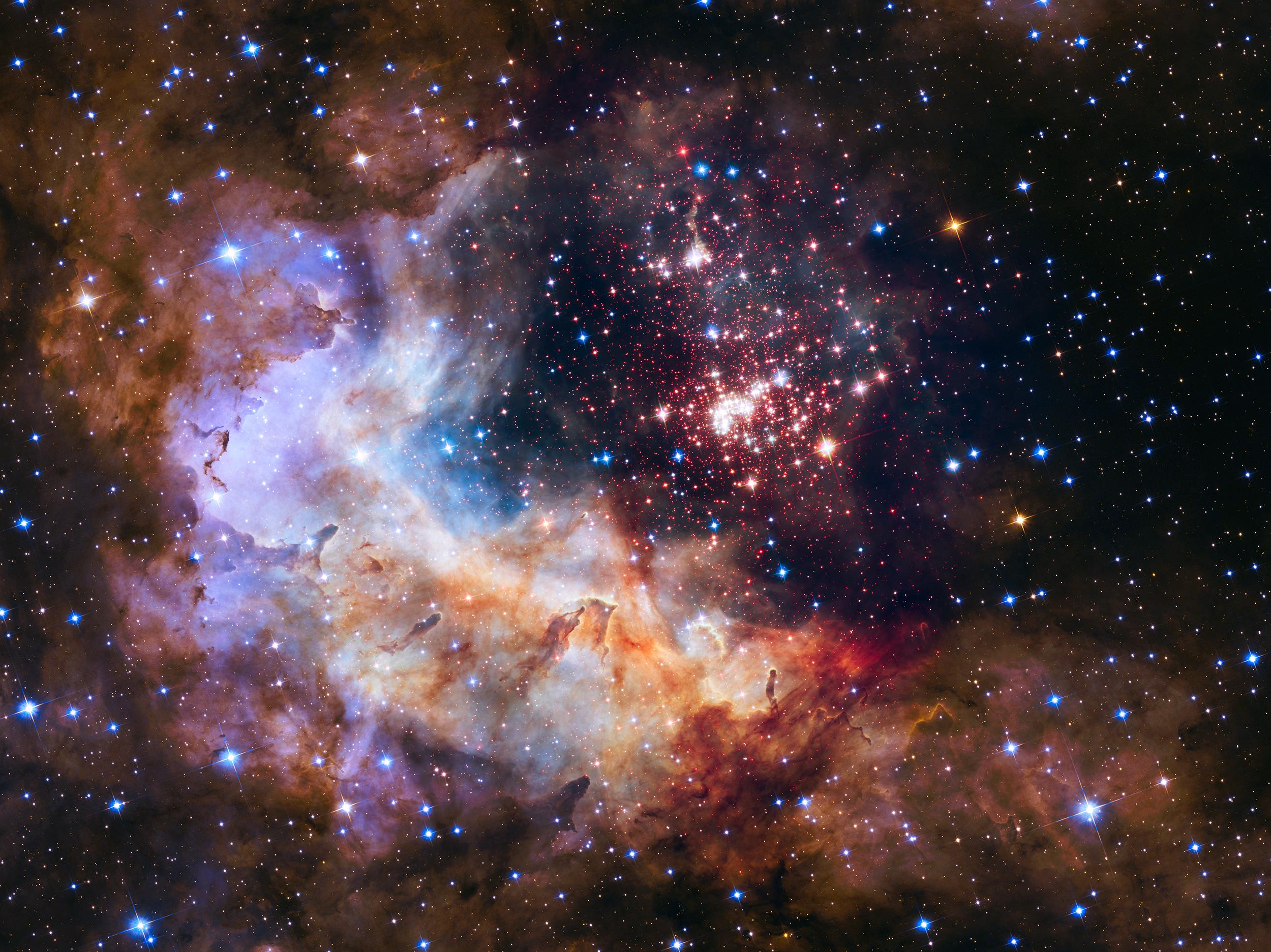 Nasa unveils star 39 fireworks 39 for hubble telescope 39 s 25th - Nasa screensaver ...