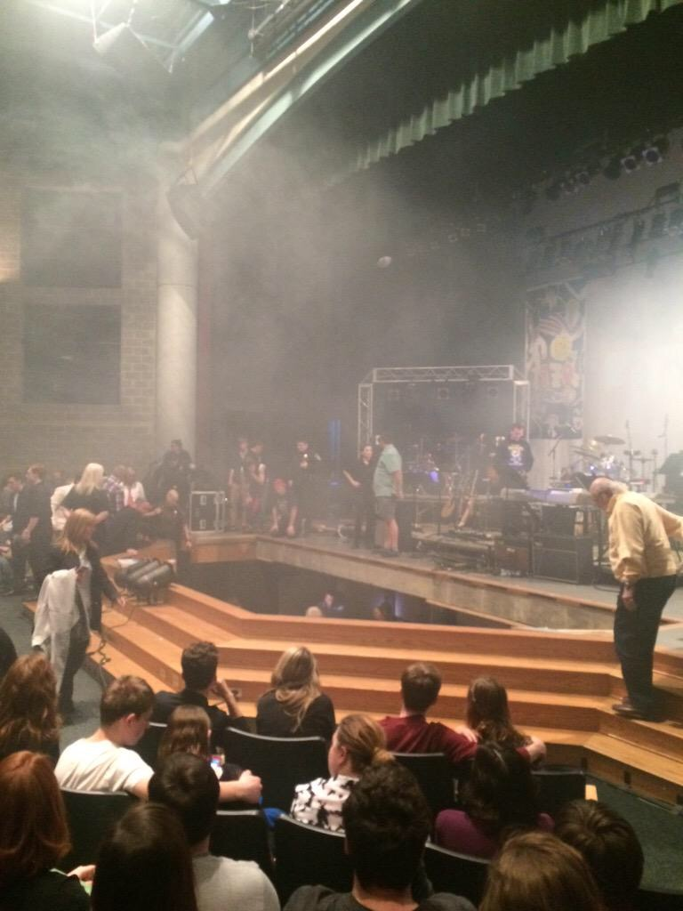 Stage Collapses at Westfield High School in Indiana, Injuring More Than a  Dozen
