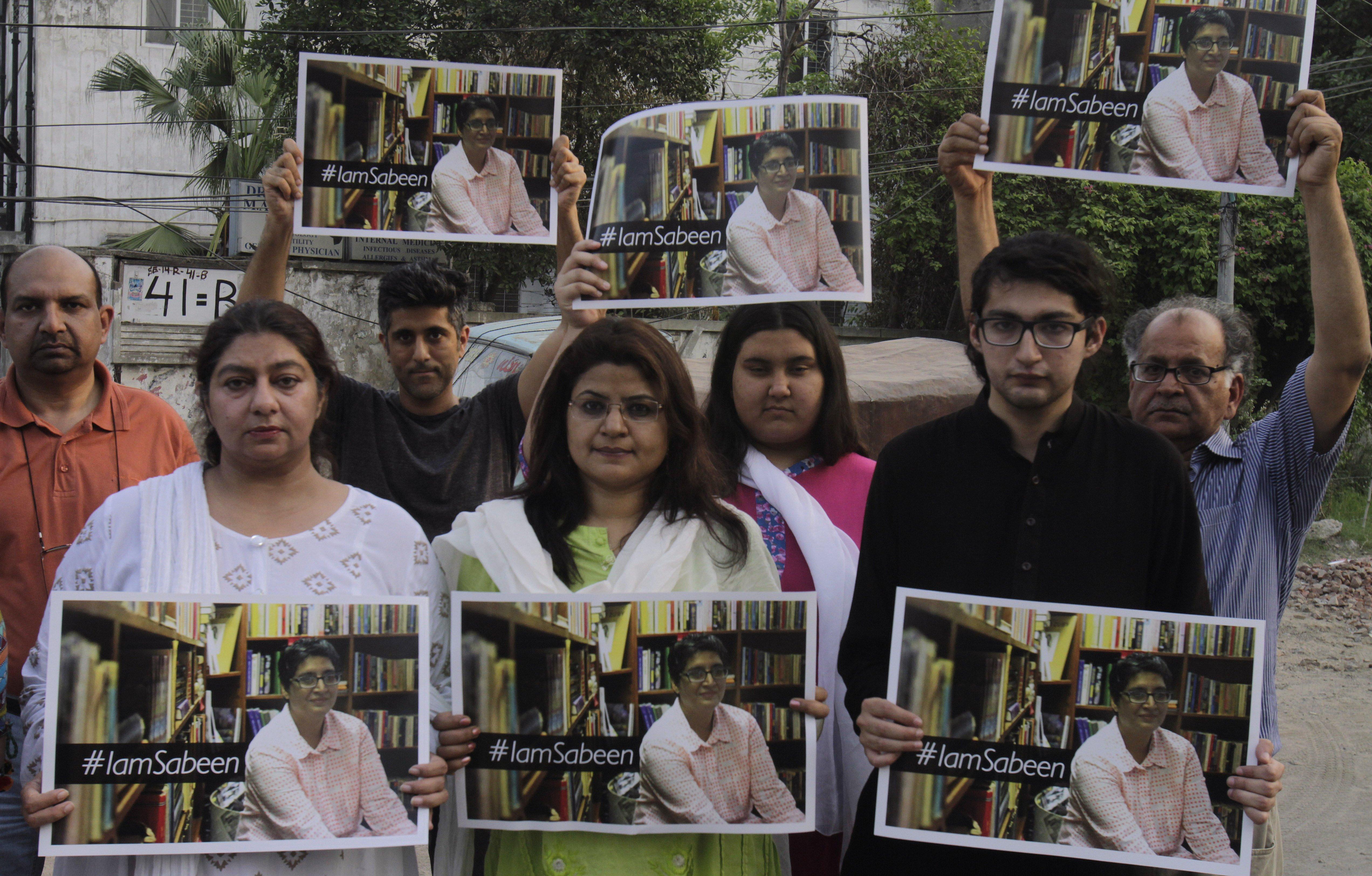 Image: Sabeen Mahmud