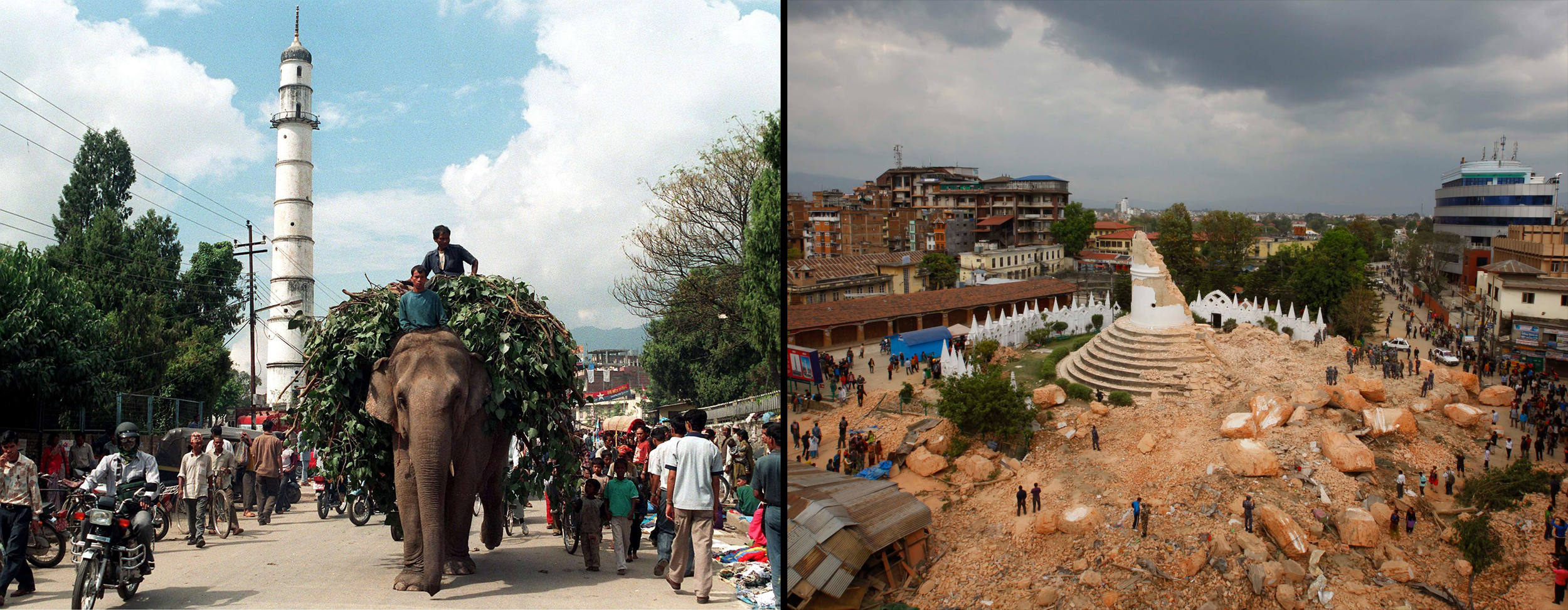Shattered Historic Sites Could Ruin Nepal Economy