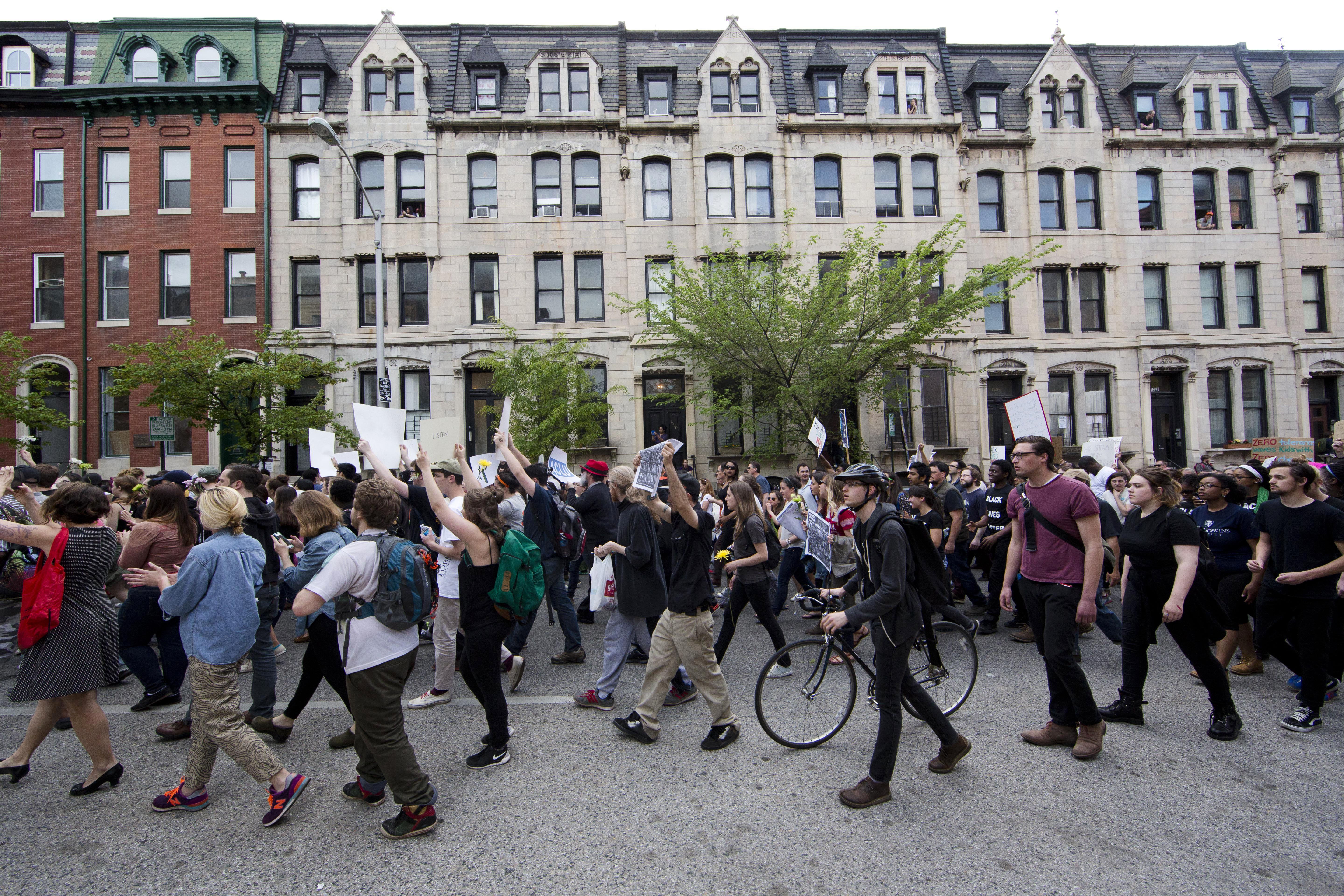 Baltimore Protesters Go Free as Arrest Paperwork Backs Up