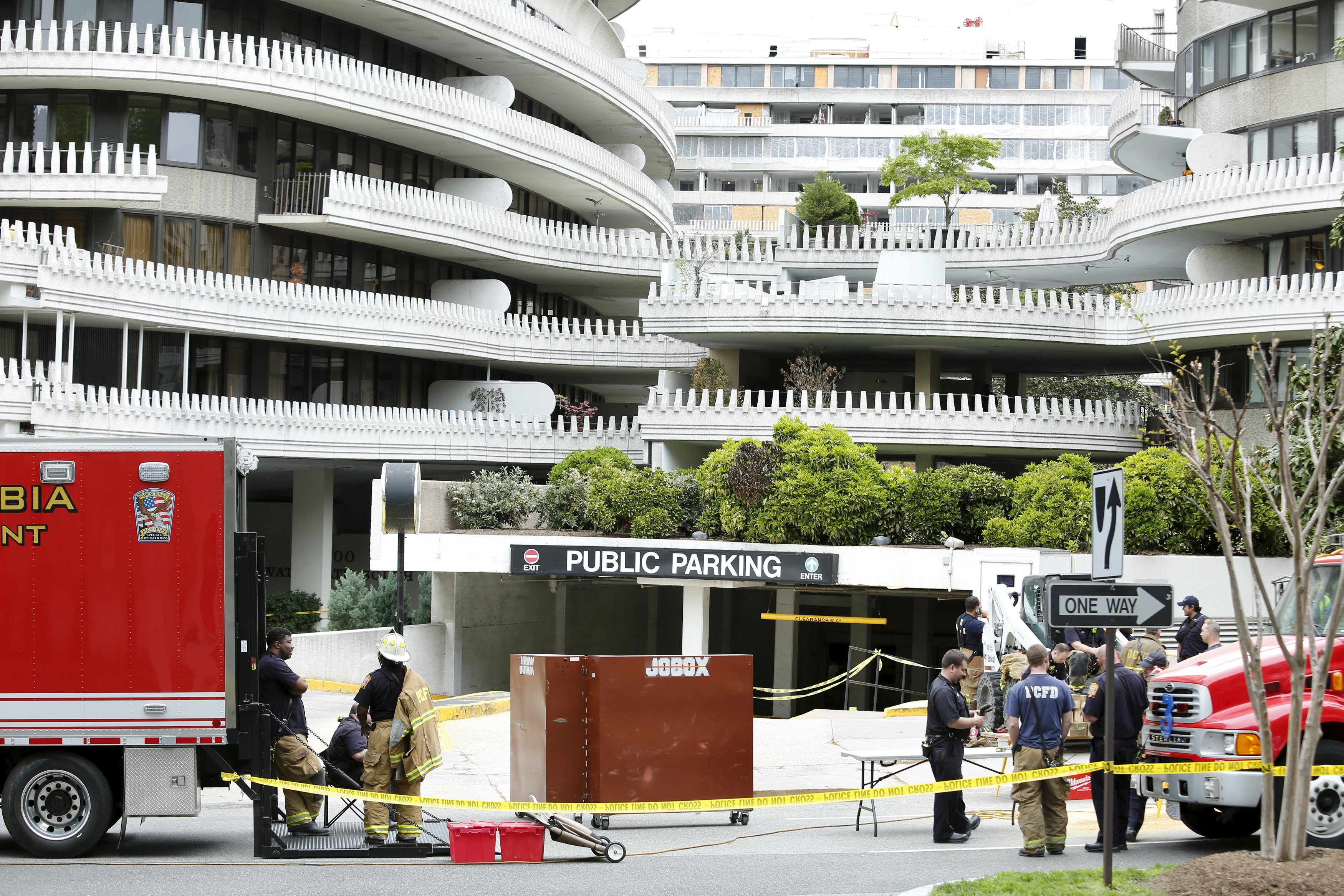 Watergate garage collapses in Northwest D.C.; one person injured - The ...