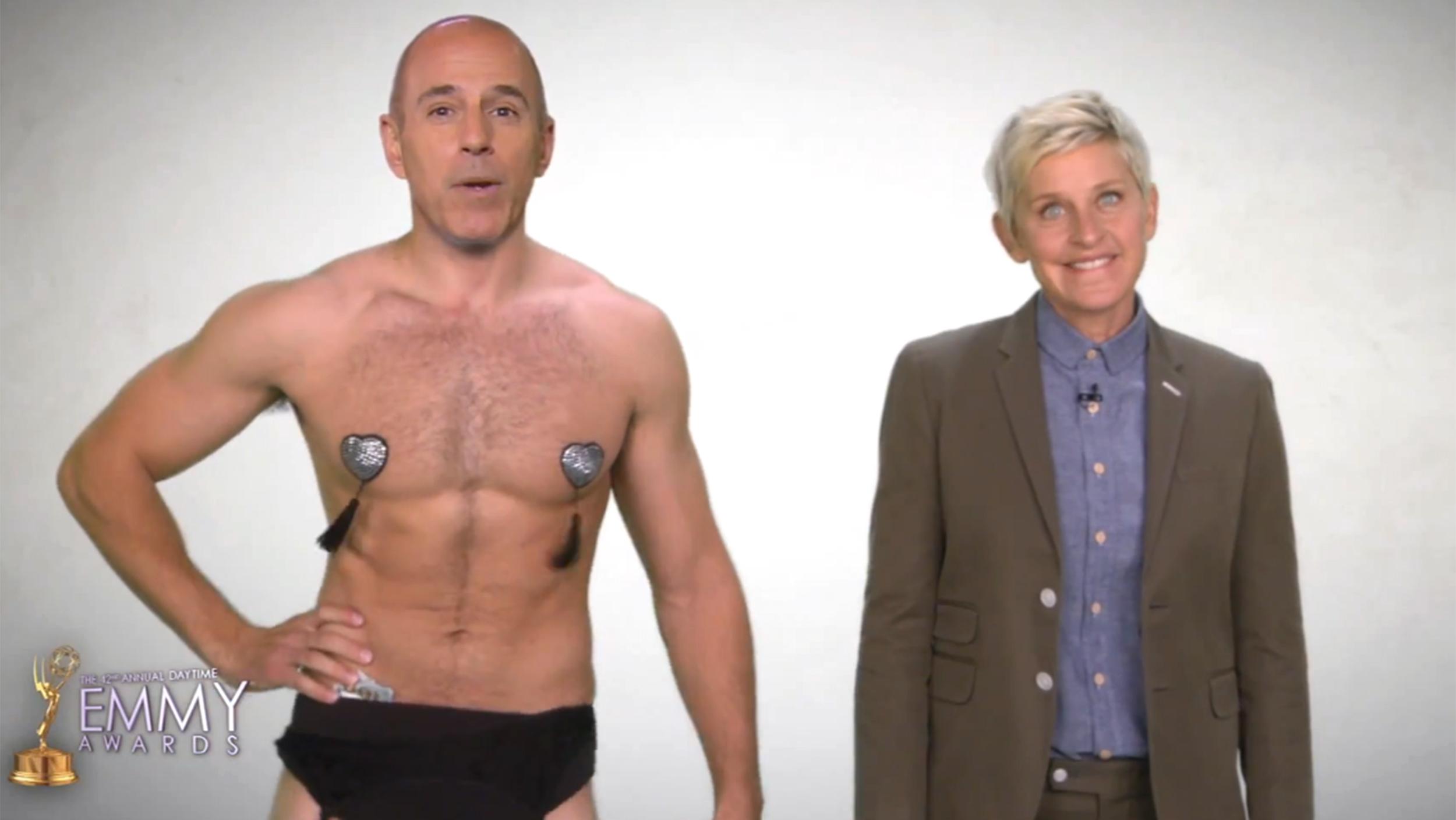 <b>Matt</b> <b>Lauer</b>, Ellen DeGeneres call fake truce, raise real ...