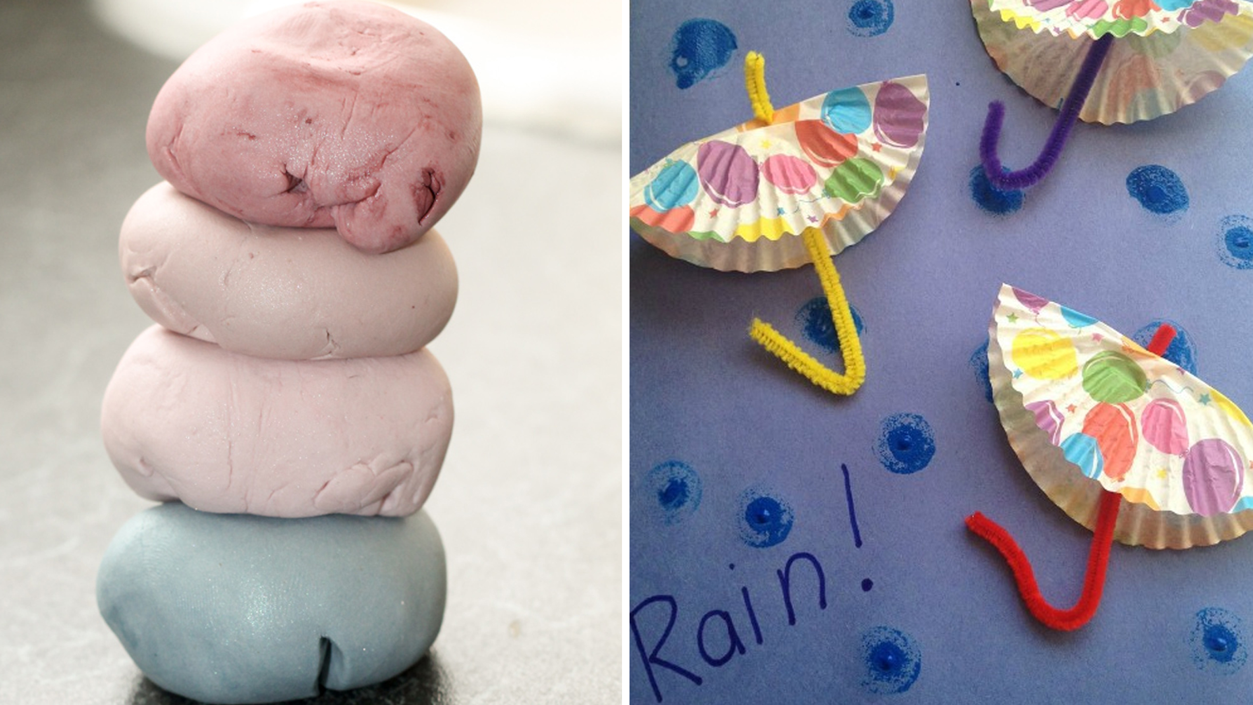 Toddler Rainy Day Crafts