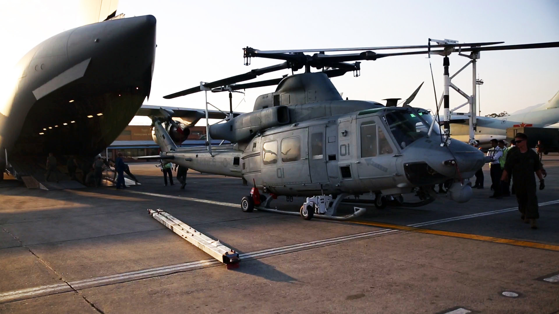 U.S. rescue helicopter missing in Nepal
