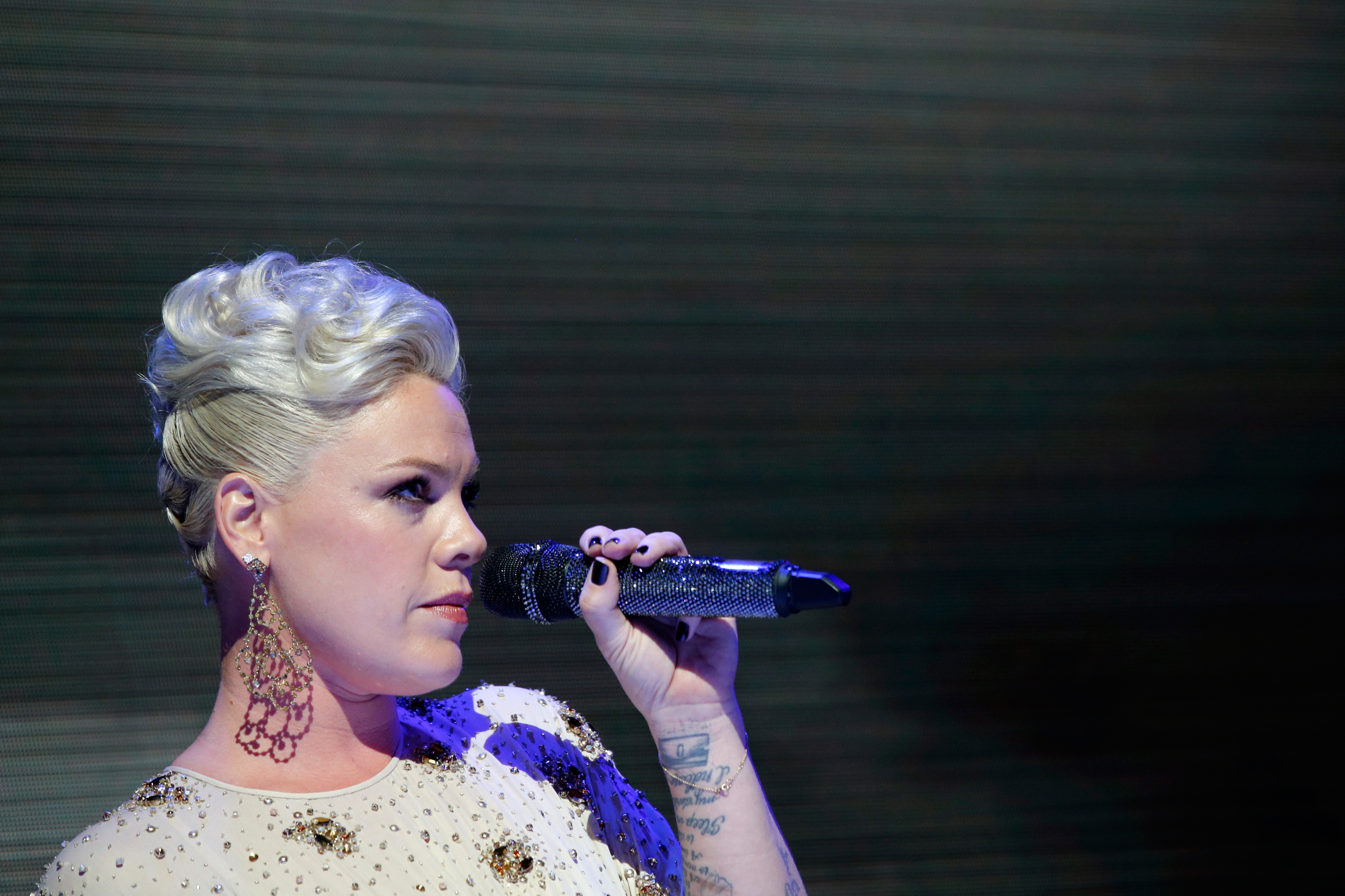 Pink won't let body-shamers get her down: 'My life is full ...