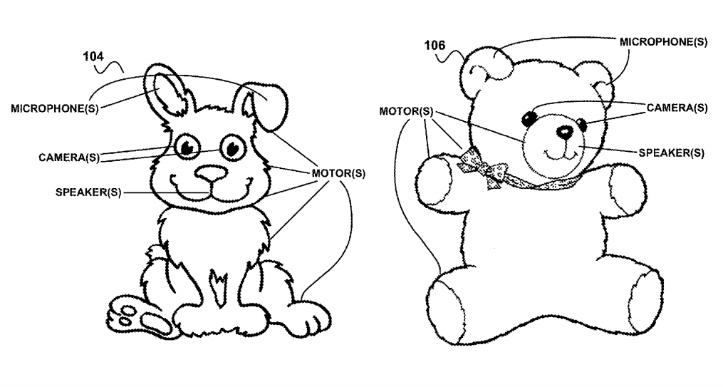 Google Patents Toys That Watch