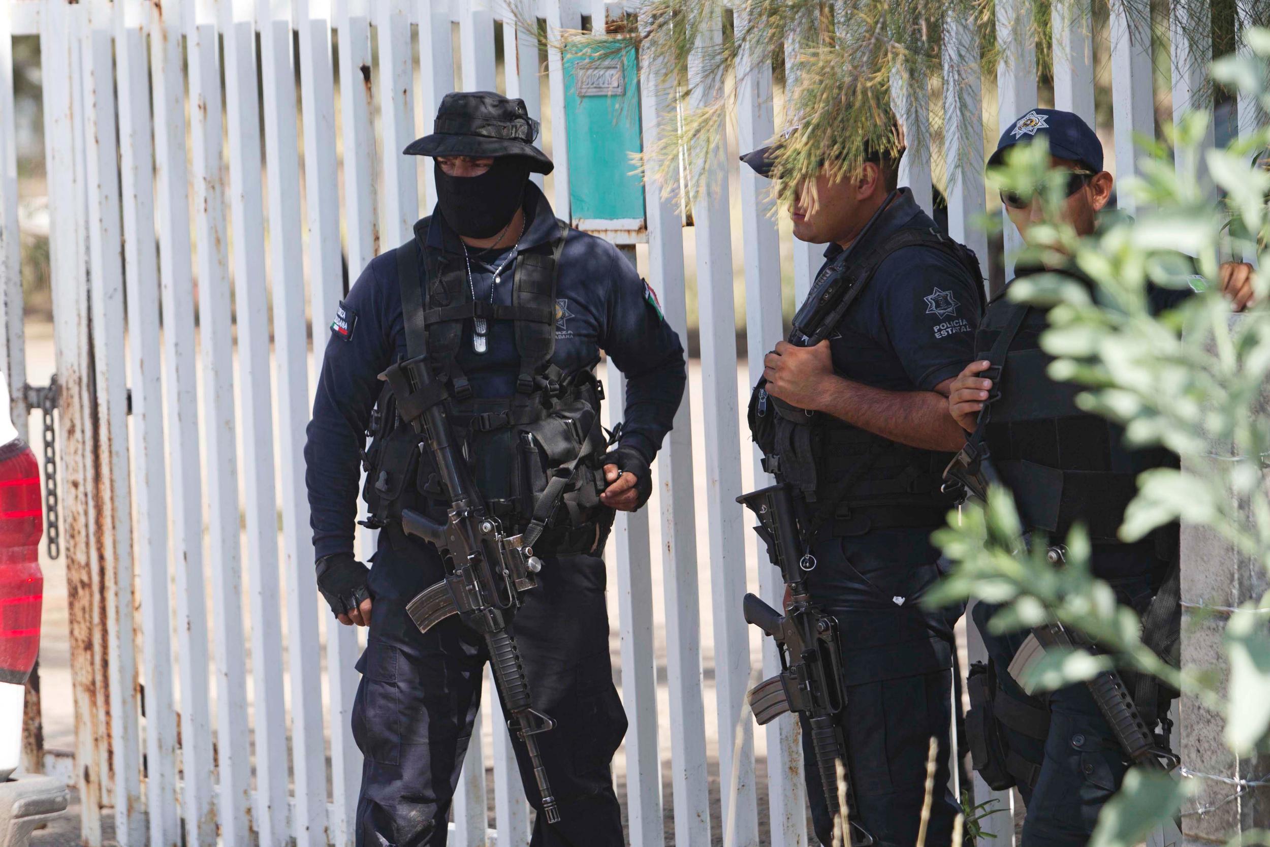 Dozens Killed in Cartel Area Shootout in Mexico