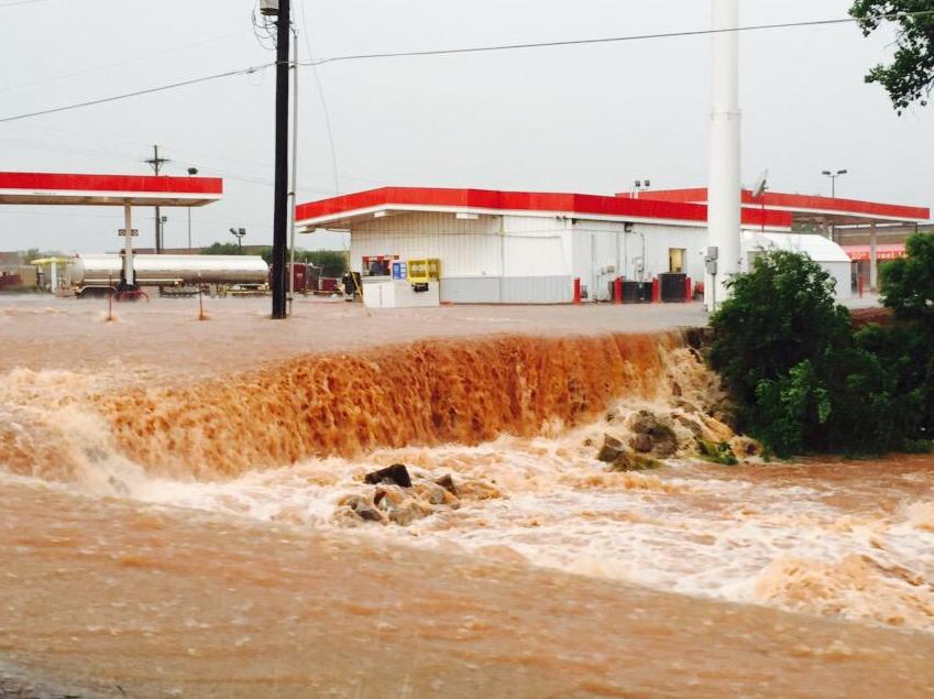 'Catastrophic' Flooding Hits Oklahoma, Texas
