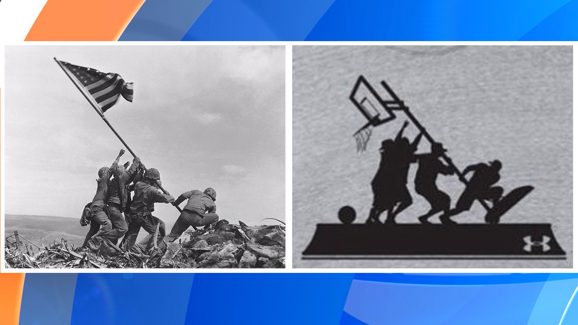 Under Armour under fire for using WWII