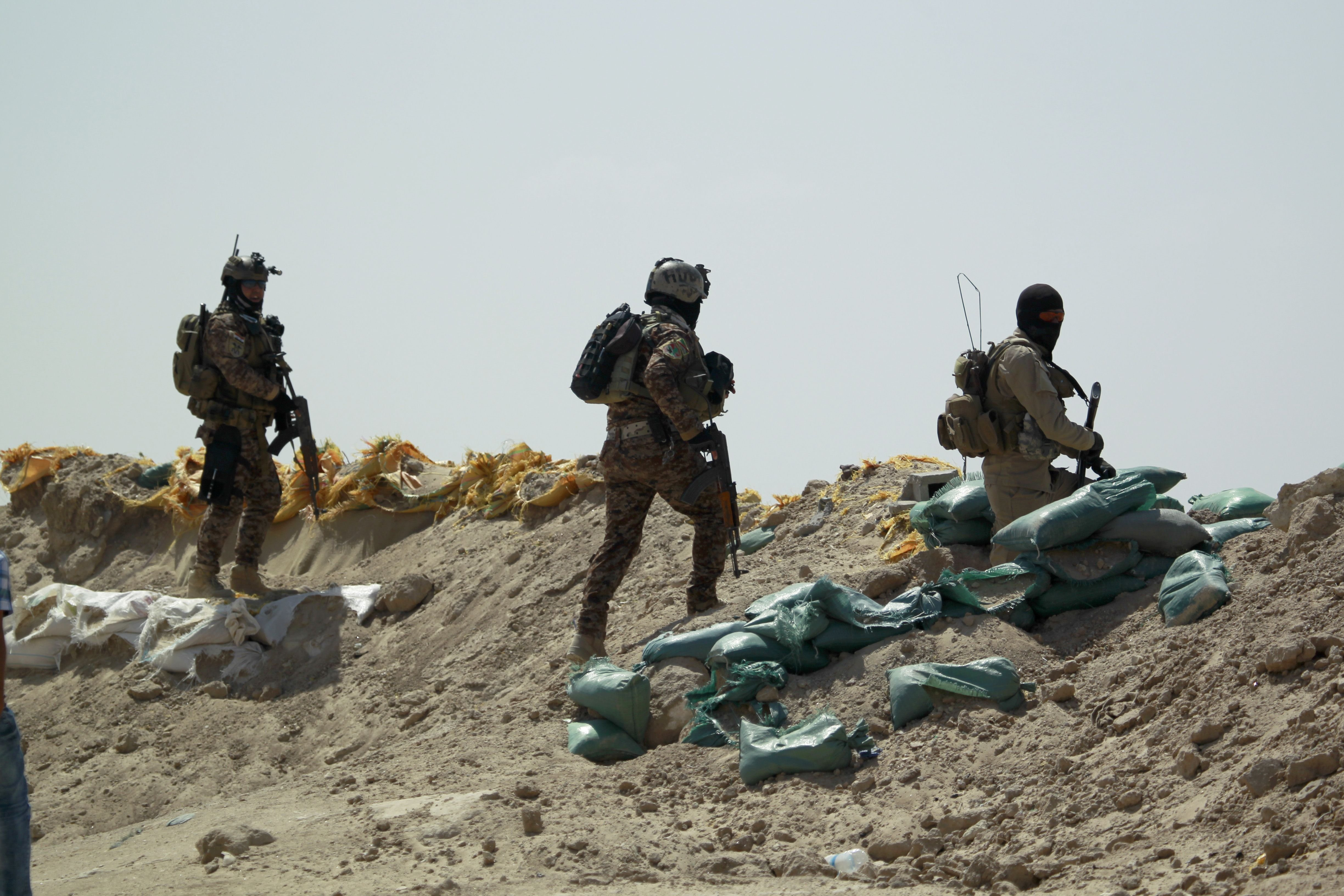 Iraq Launches Operation to Drive ISIS Out of Anbar