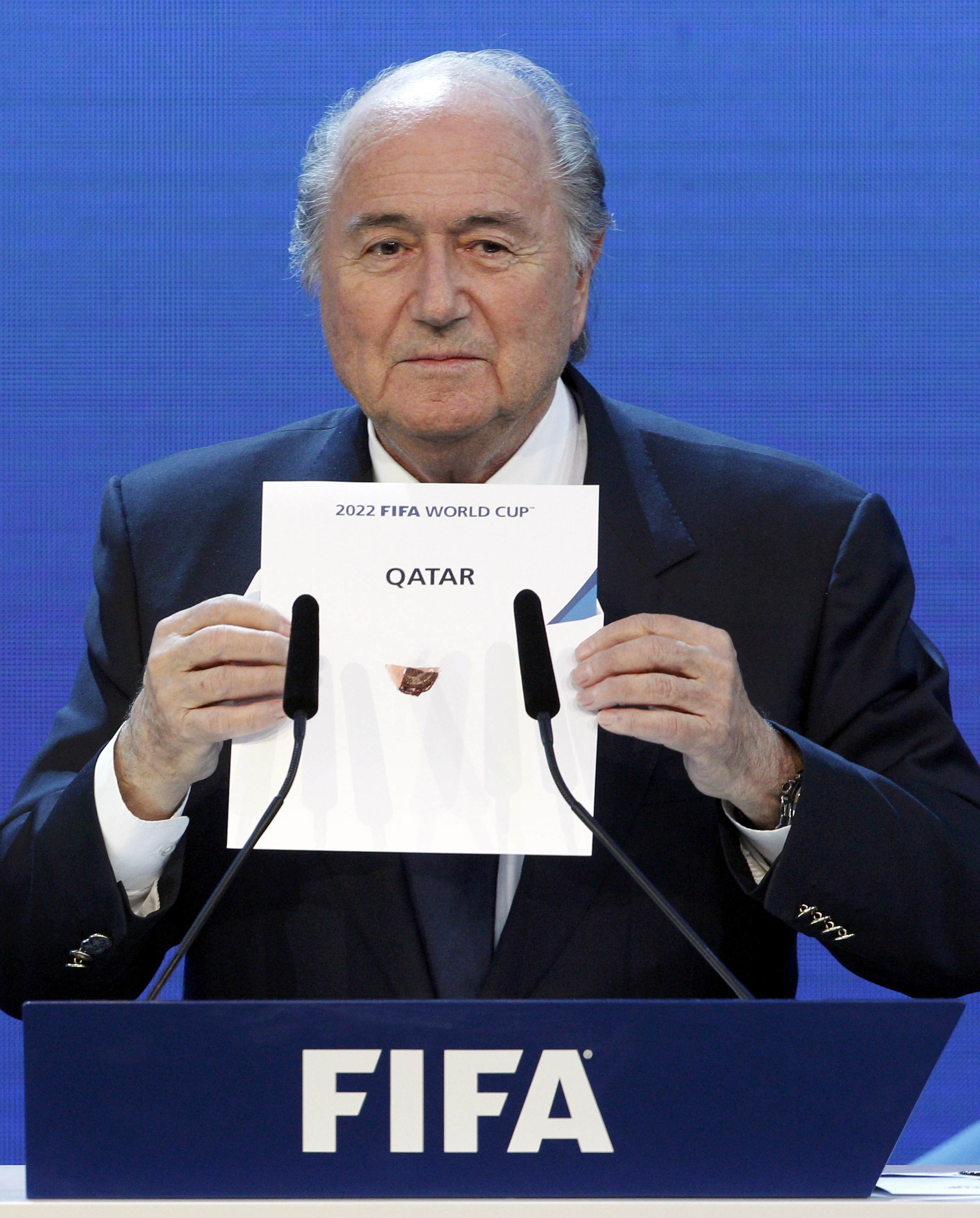Corrupt or Not, FIFA Says World Cups Will Go Ahead