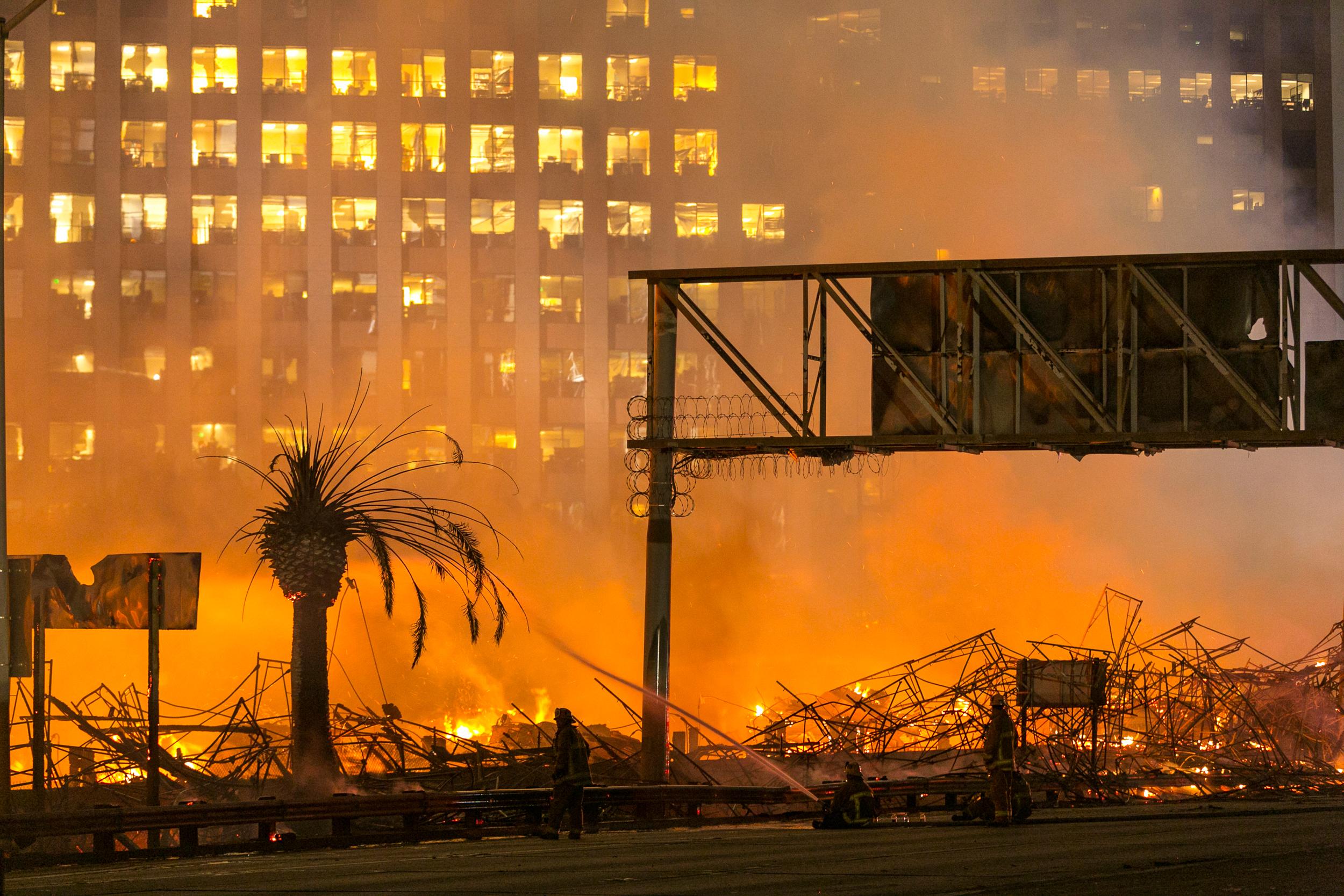 Police Make Arrest in 'Devastating' Da Vinci Fire in Downtown LA