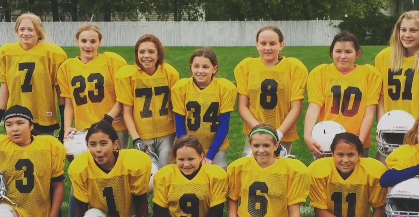 Girls Tackle Football League Is A Big Hit