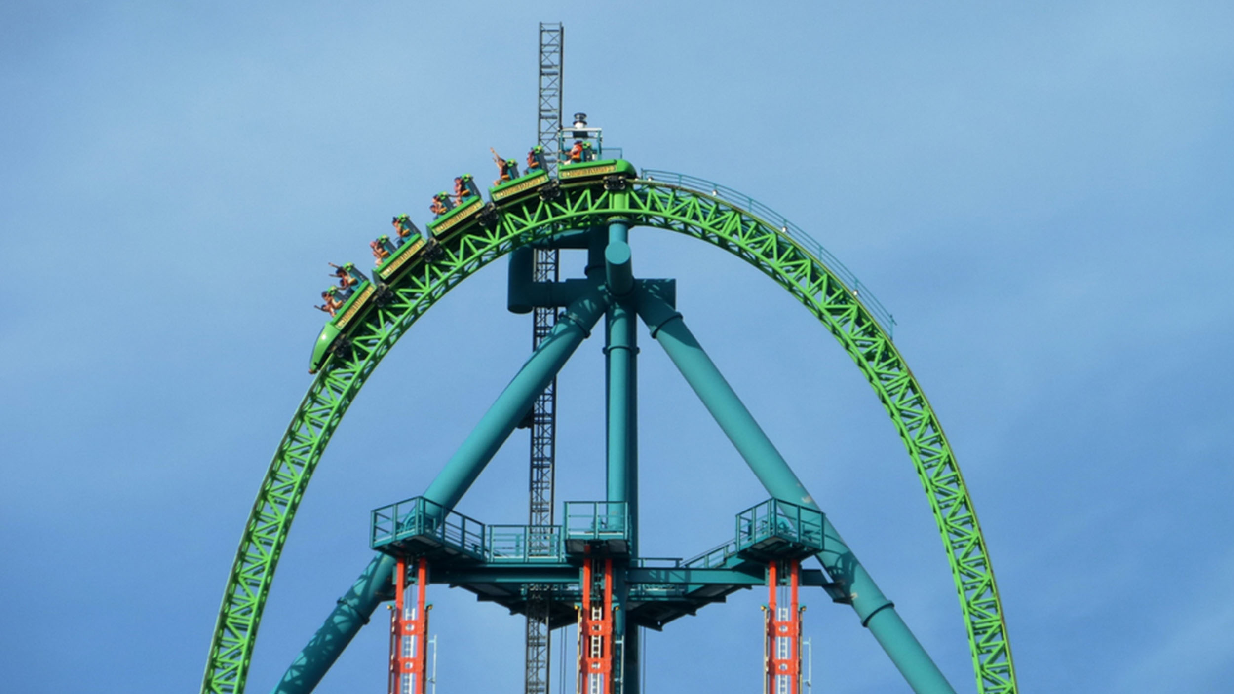Top 10 Tallest Roller Coasters In America Today Com