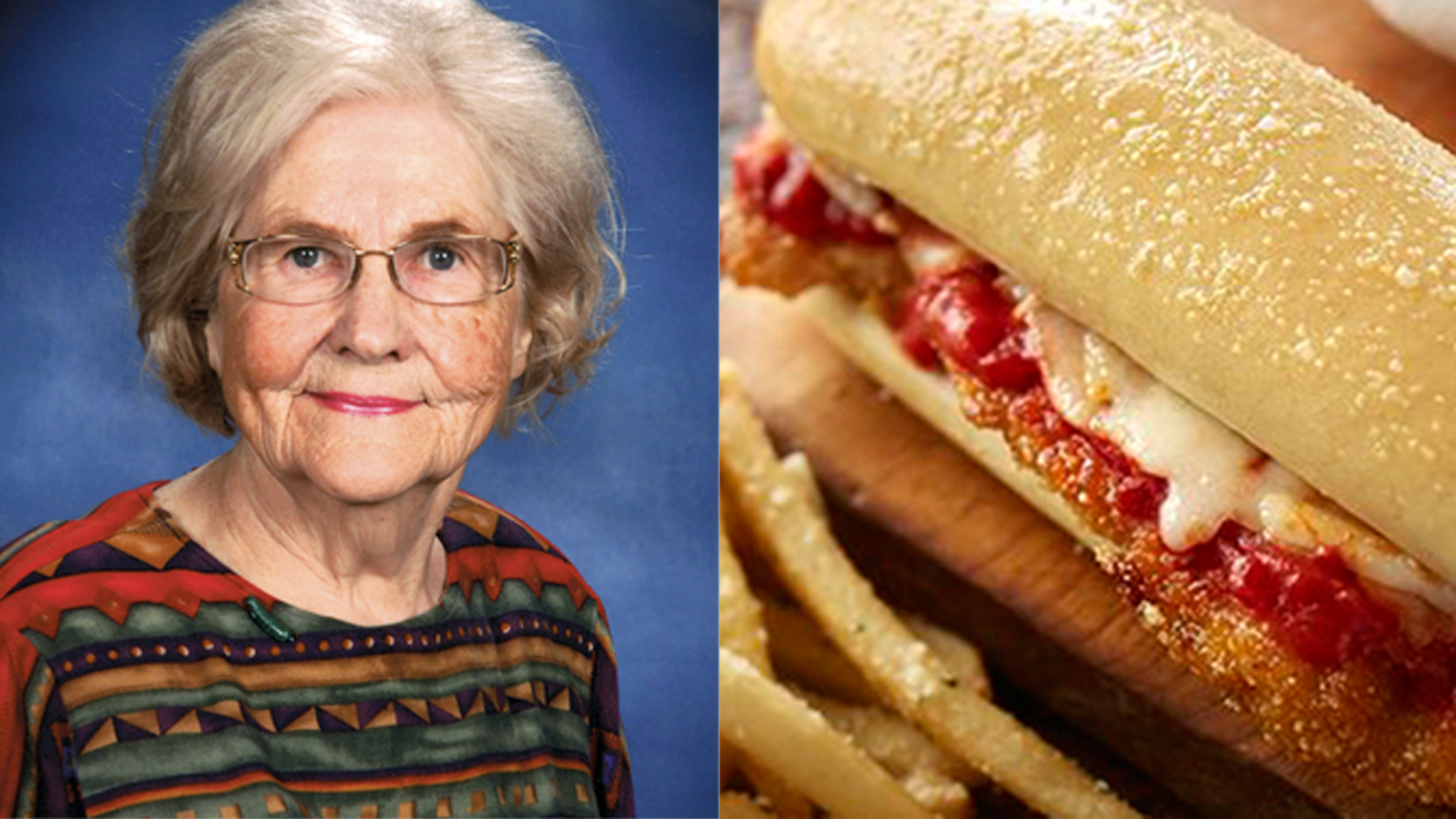 marilyn hagerty reviews olive gardens breadstick sandwiches - Olive Garden Breadstick Sandwich