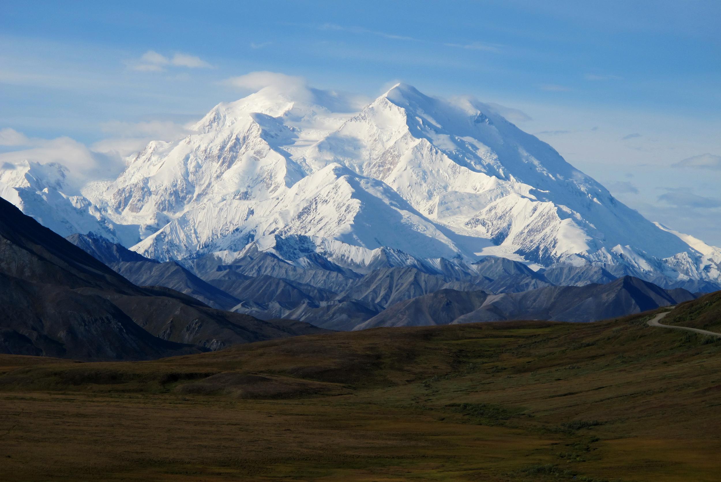 mckinley out denali in highest peak in north america renamed
