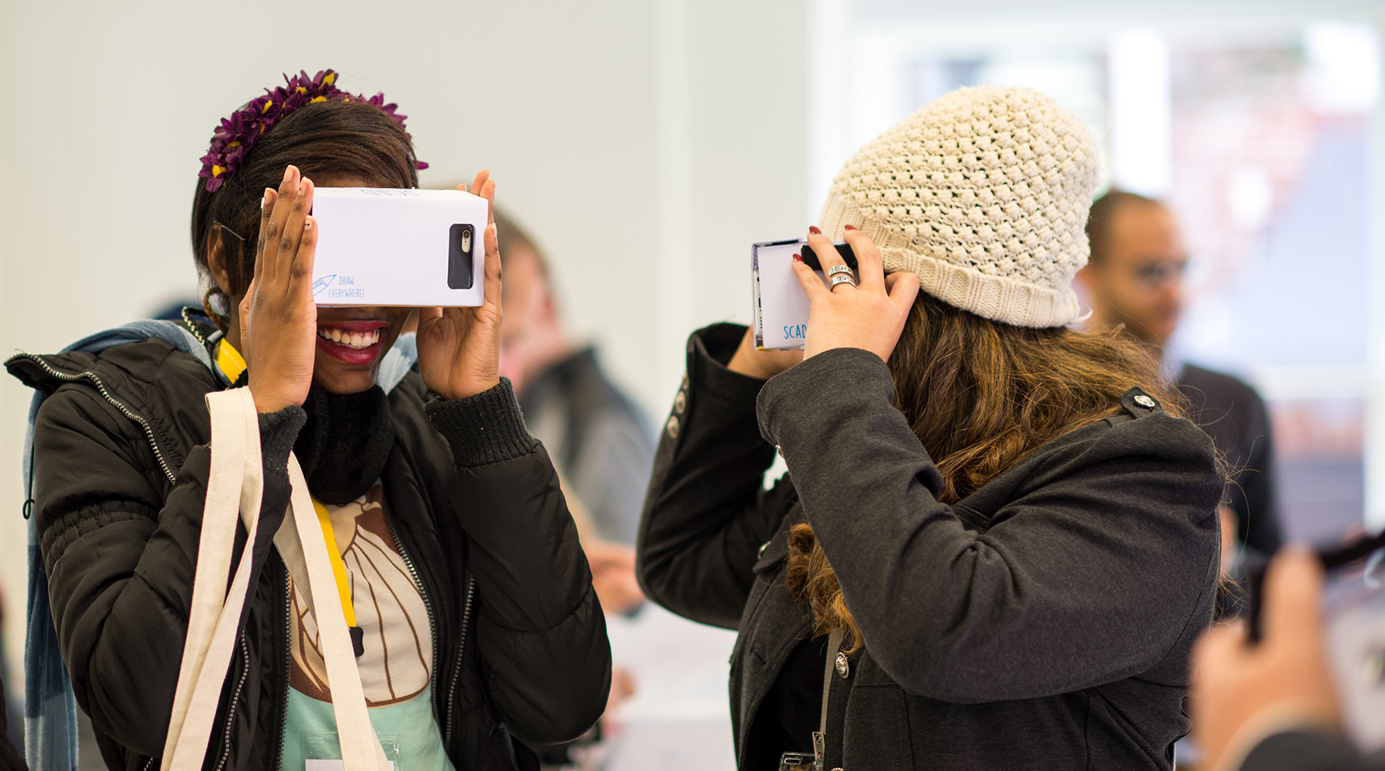 Oculus Rift Takes Students,