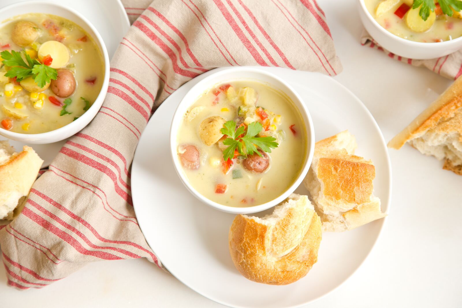 Try this easy, healthy one-pot vegetable chowder - TODAY.com