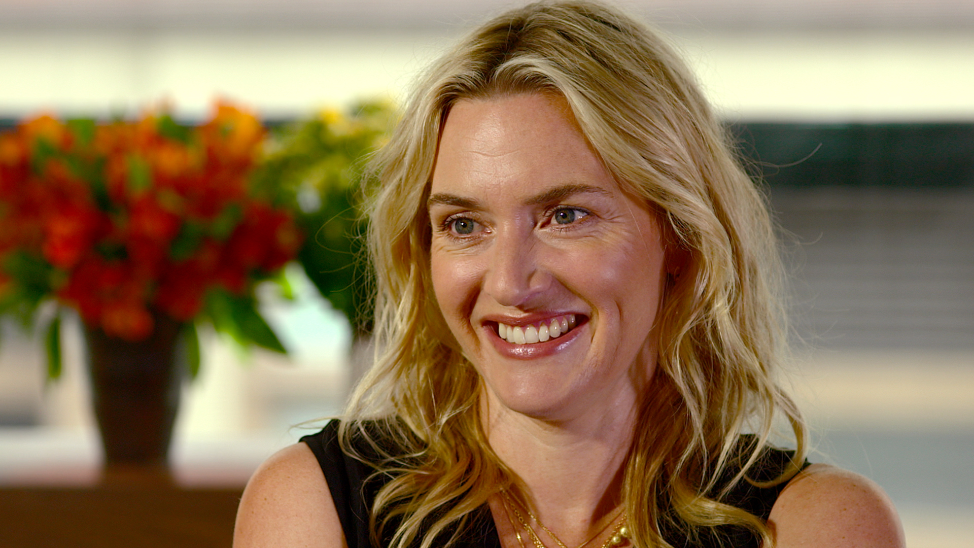 Kate Winslet talks to ...