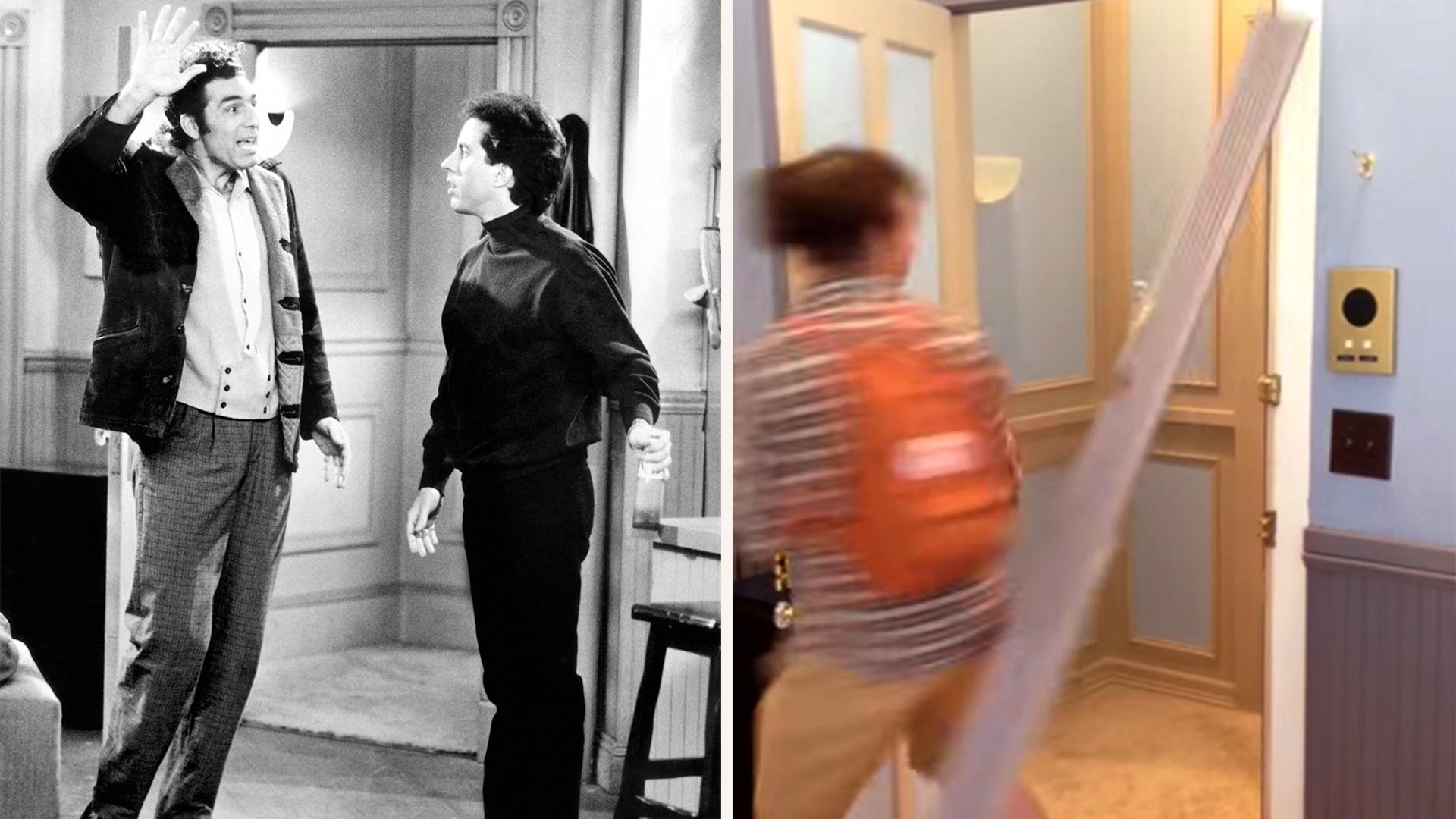 Man breaks door at \u0027Seinfeld\u0027 replica while making Kramer entrance - TODAY.com  sc 1 th 168 & Man breaks door at \u0027Seinfeld\u0027 replica while making Kramer entrance ...