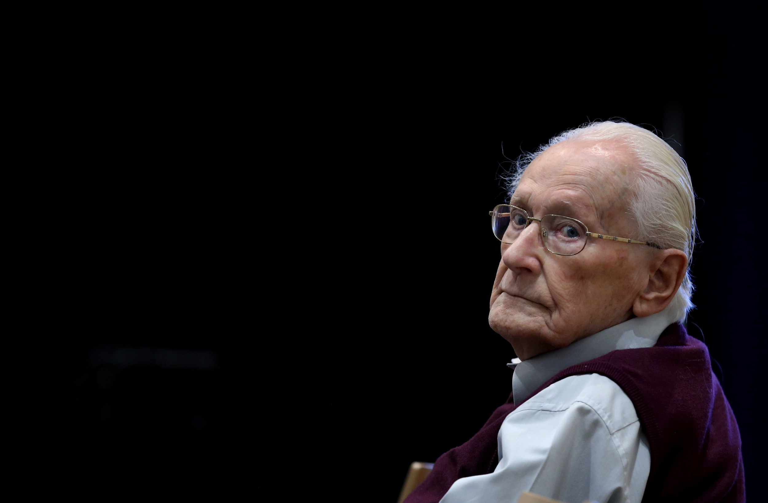 'Accountant of Auschwitz': I Can Only Ask God for Forgiveness