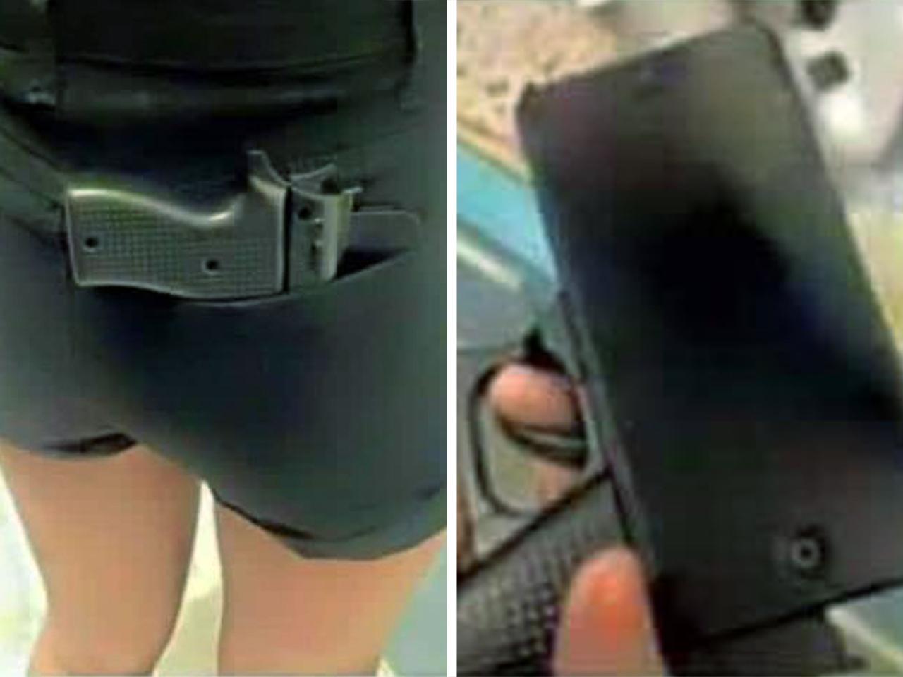 New Jersey Cops Warn Against Gun-Shaped Cellphone Case