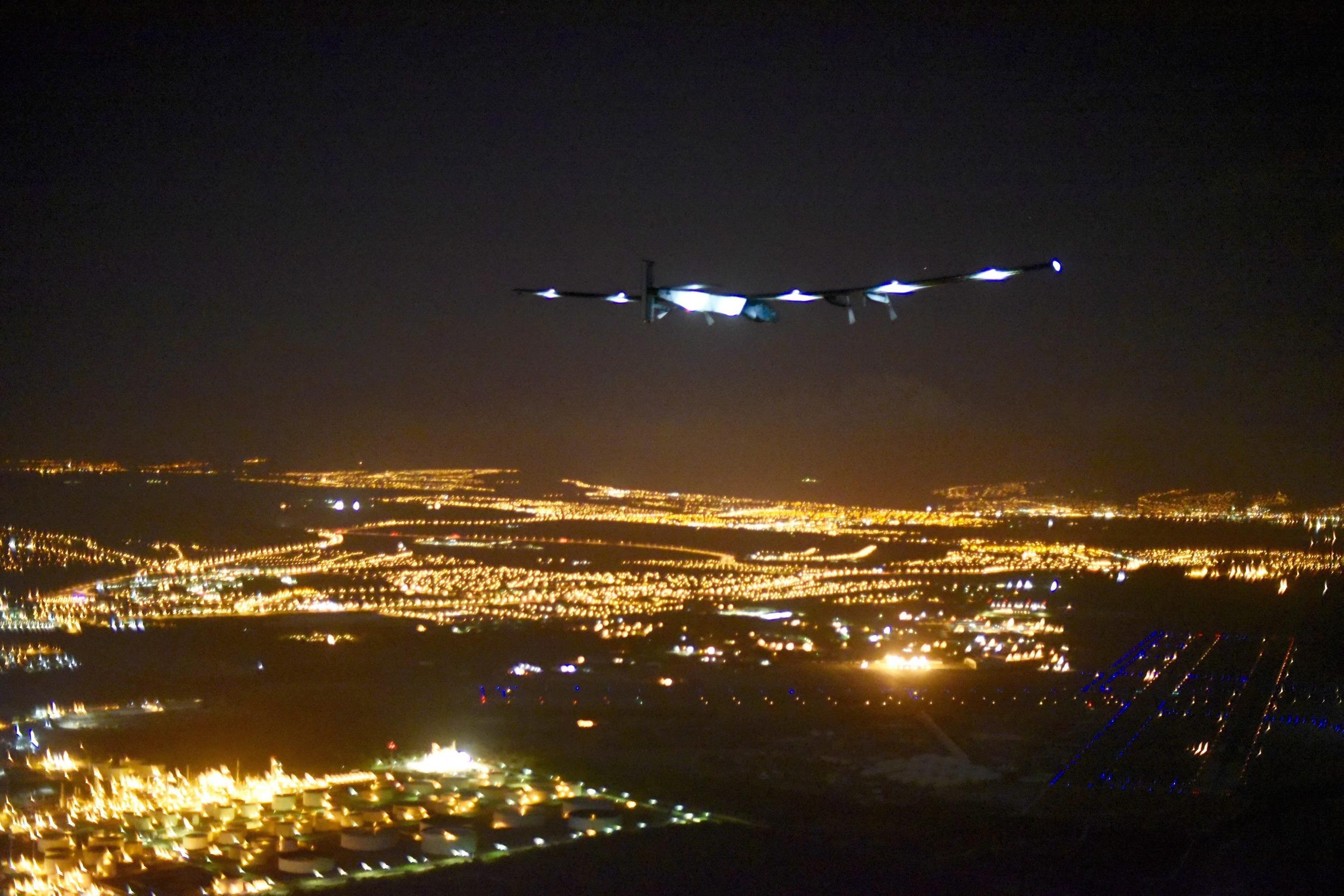 Solar Impulse Lands in Hawaii After Historic Flight