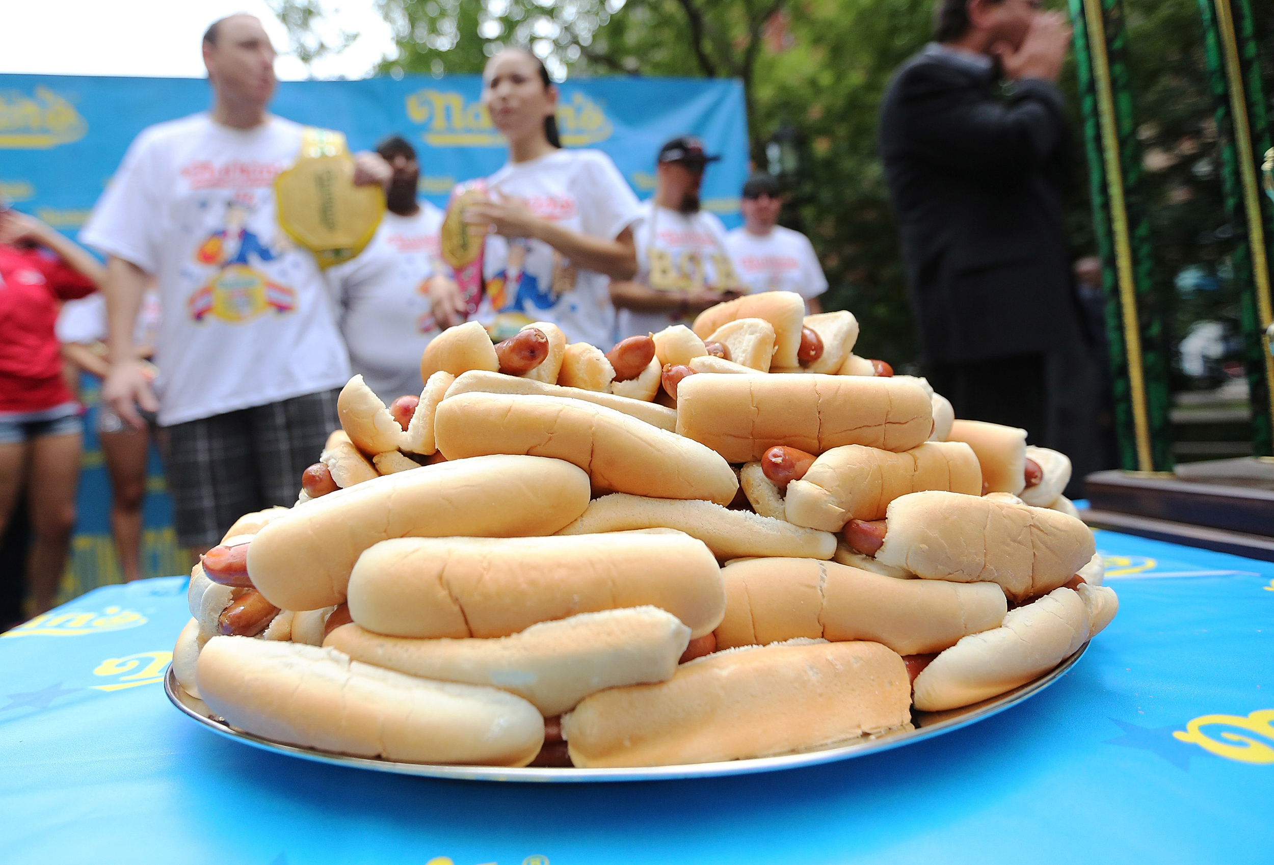 How the Hot Dog Eating Contest Became a Tradition