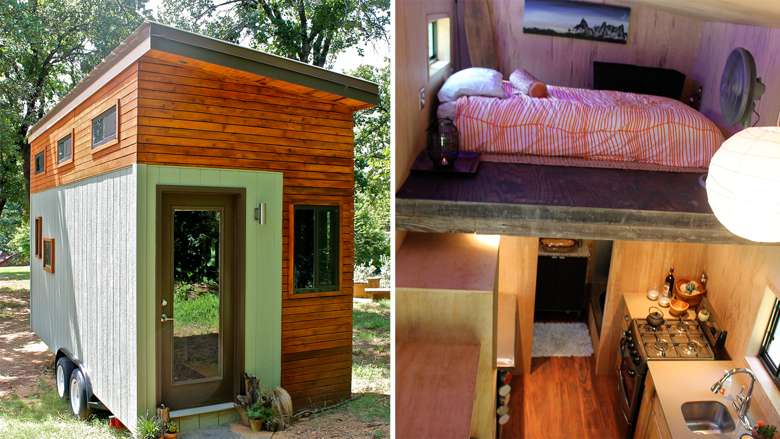College student builds tiny home to graduate debt free for Little house
