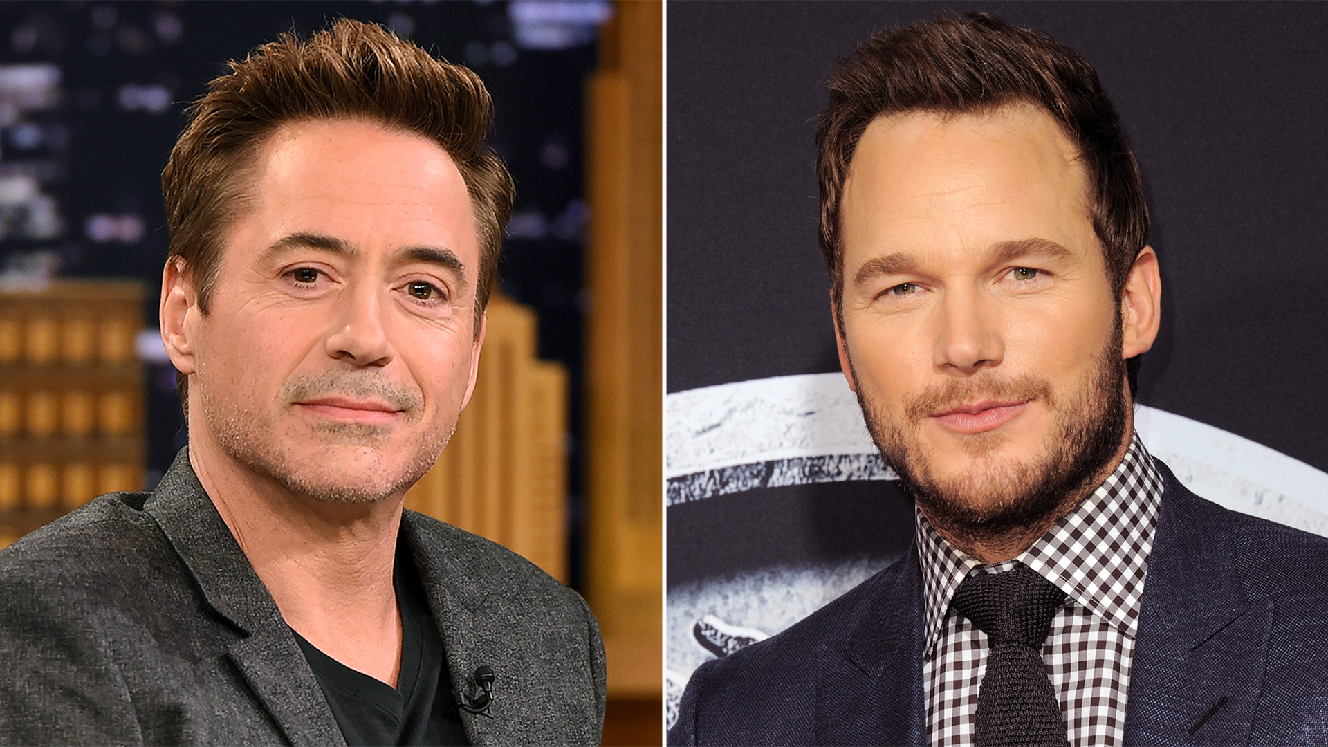 robert downey jr  sends chris pratt awesome prattkeeping pic