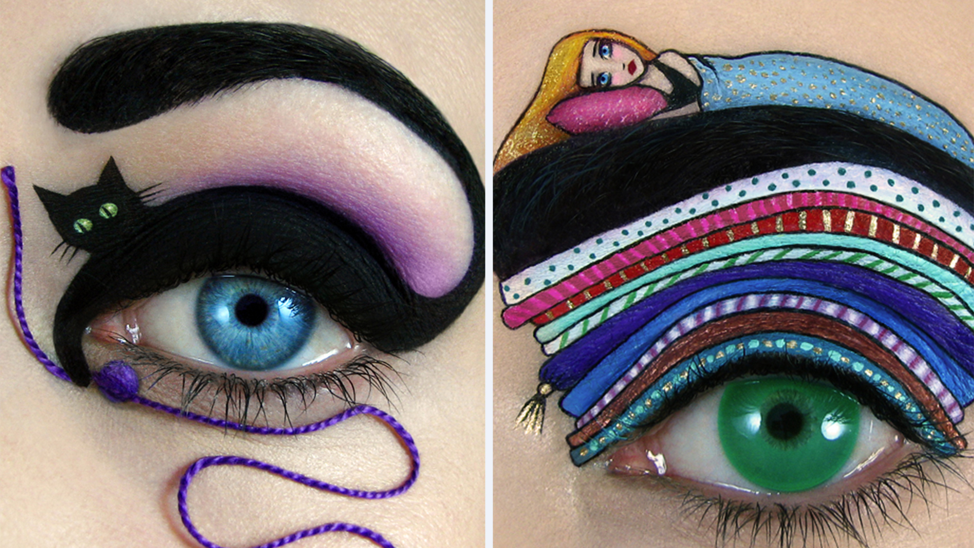 Dont Blink This Amazing Eye Makeup Art Will Blow You Away