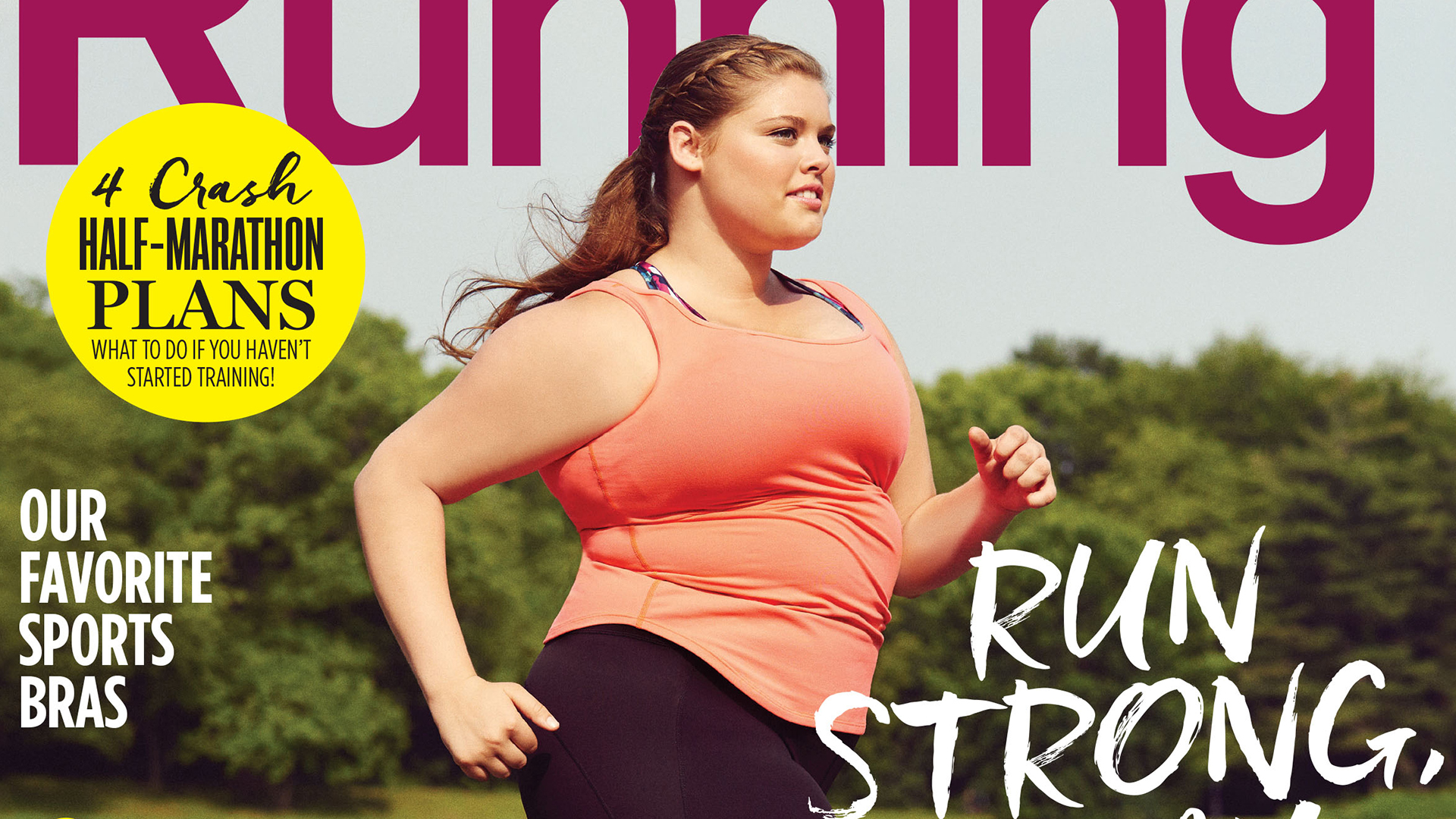 Women s Running  praised for curvy cover model   Runners come in all  shapes and sizes  f53ce7f789